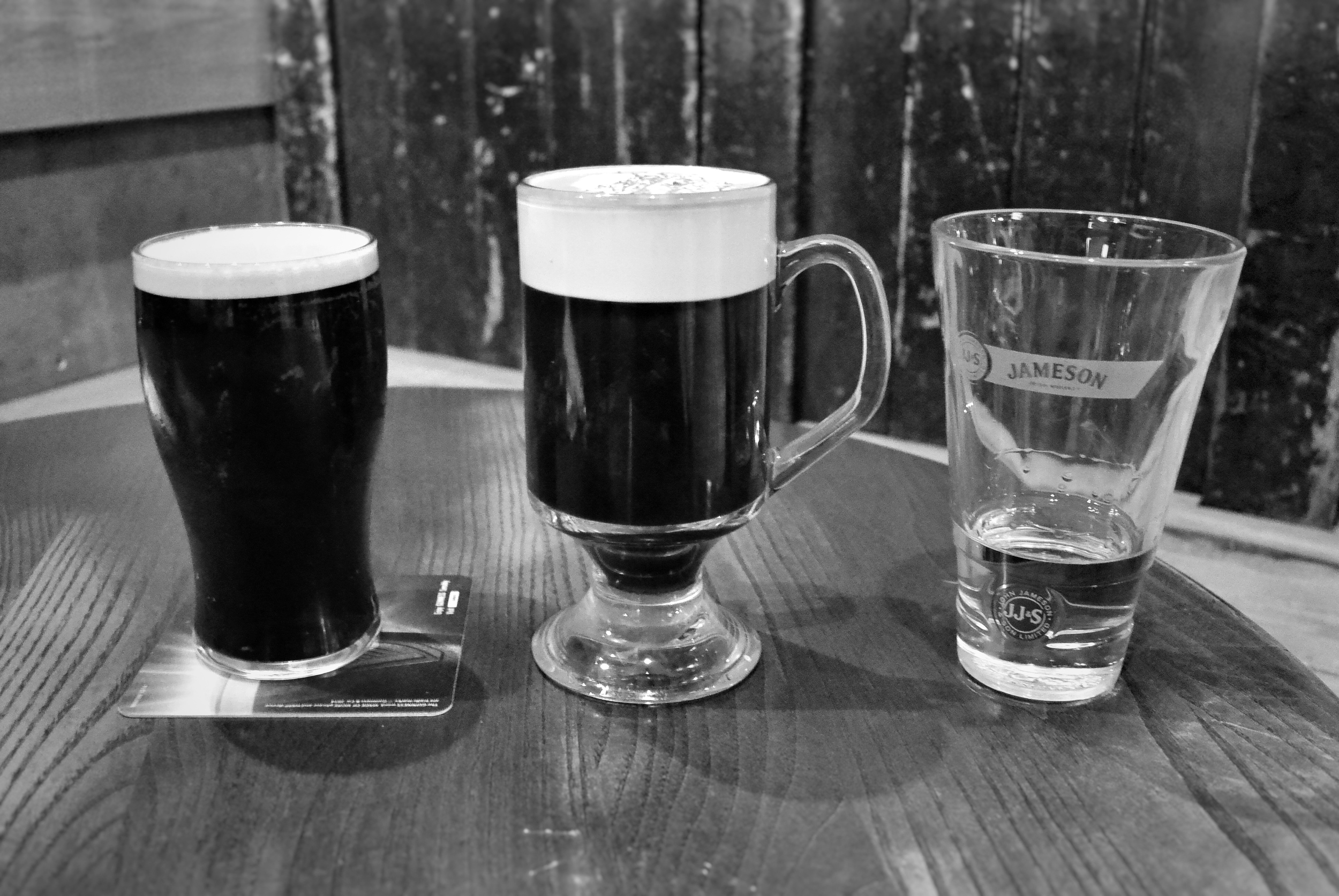 Guinness, Jameson, and Irish Coffee, Dublin
