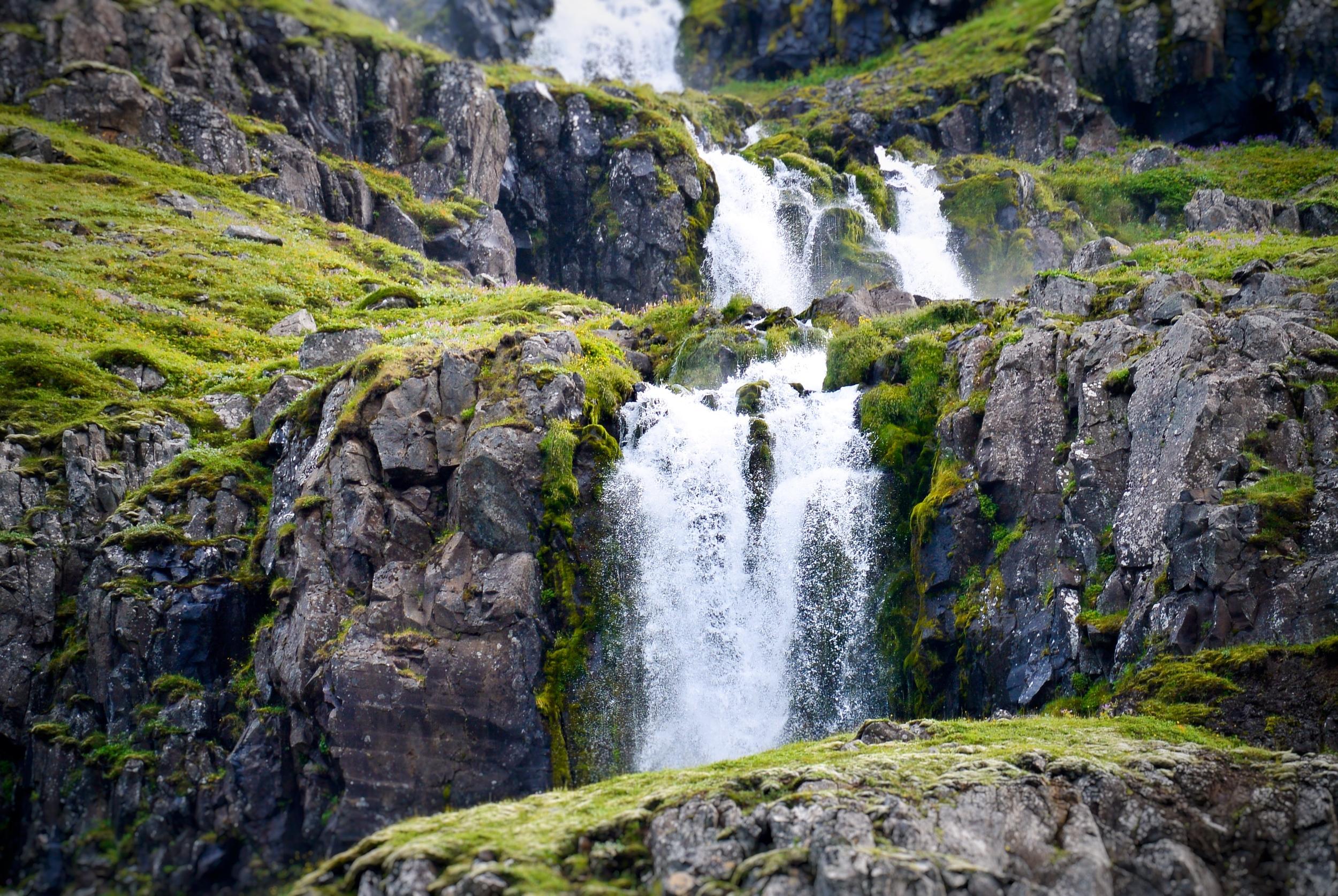 Seyðisfjörður waterfall