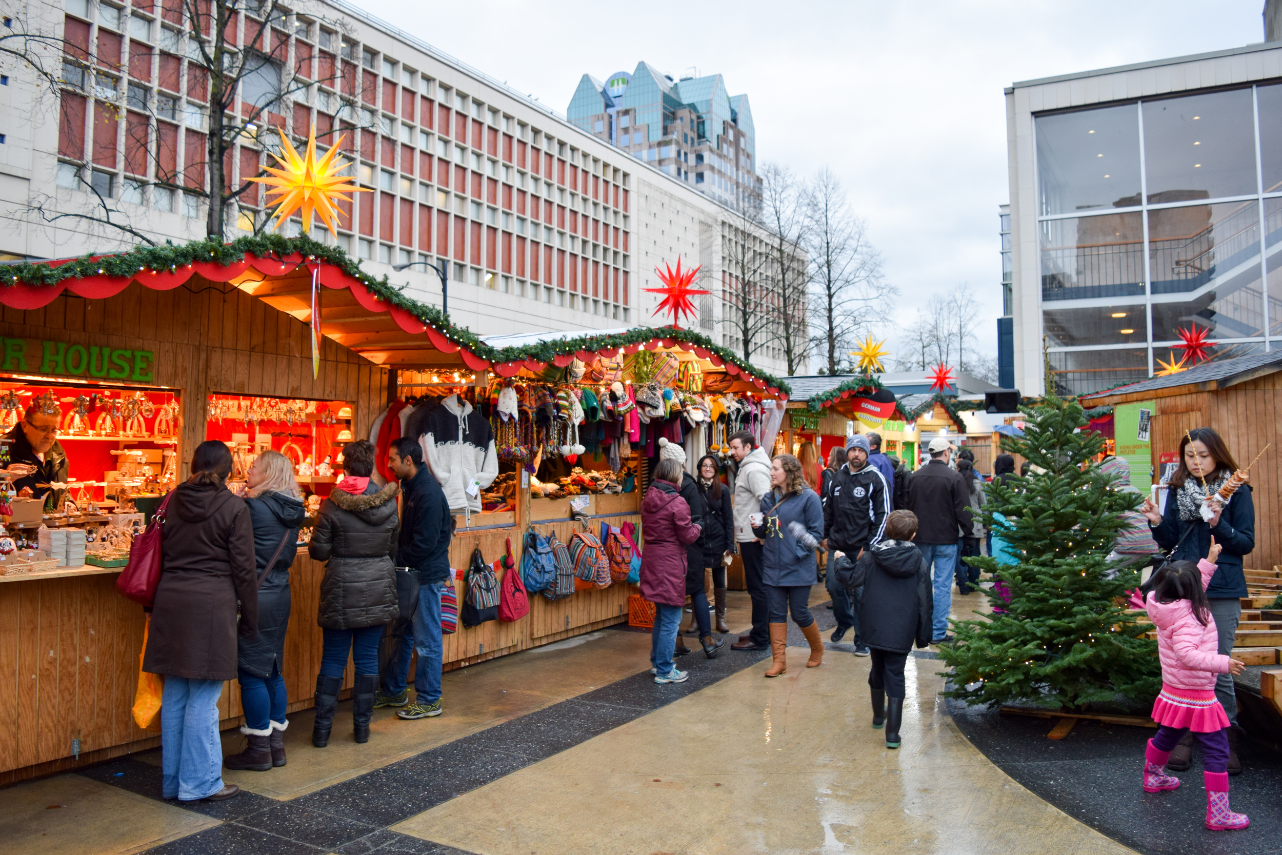Visiting the Vancouver Christmas Market