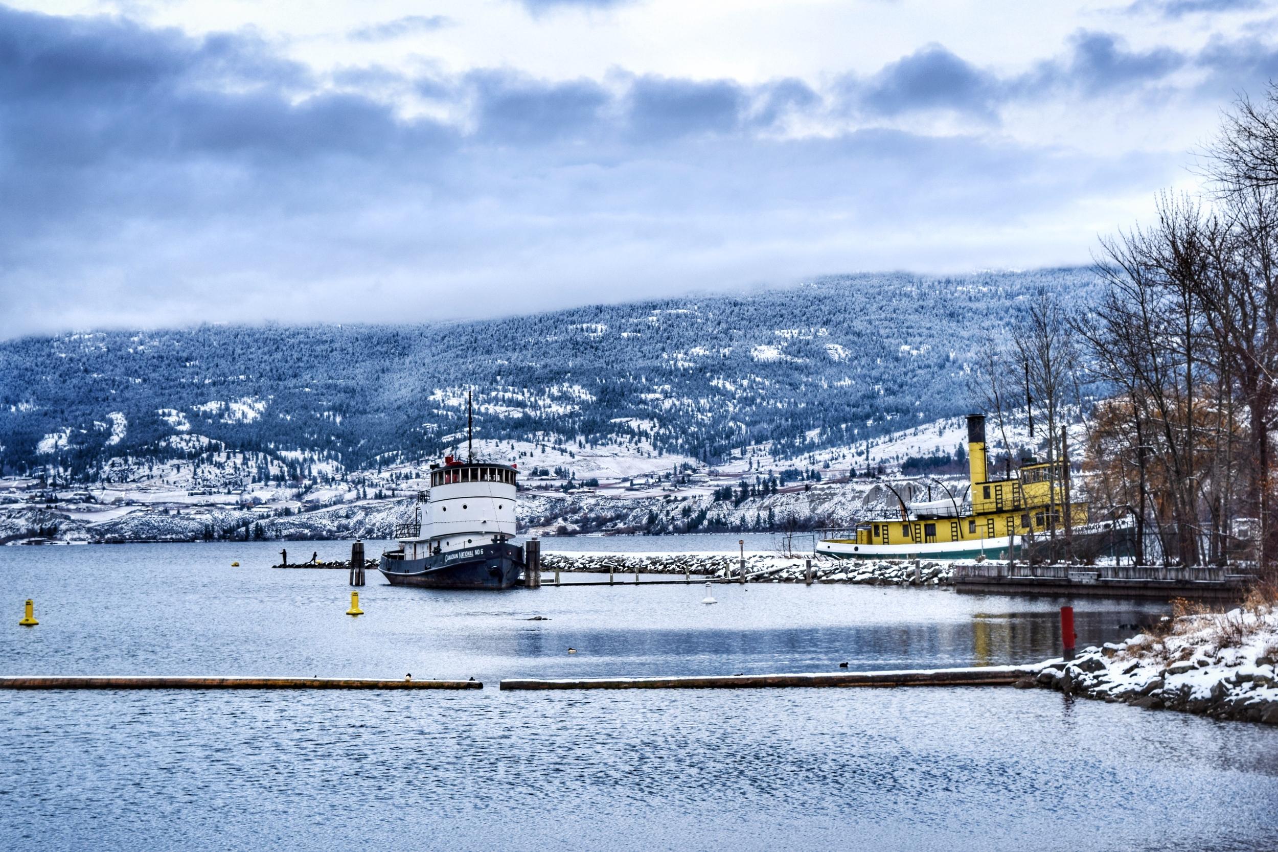 Okanagan Lake Tug Boats
