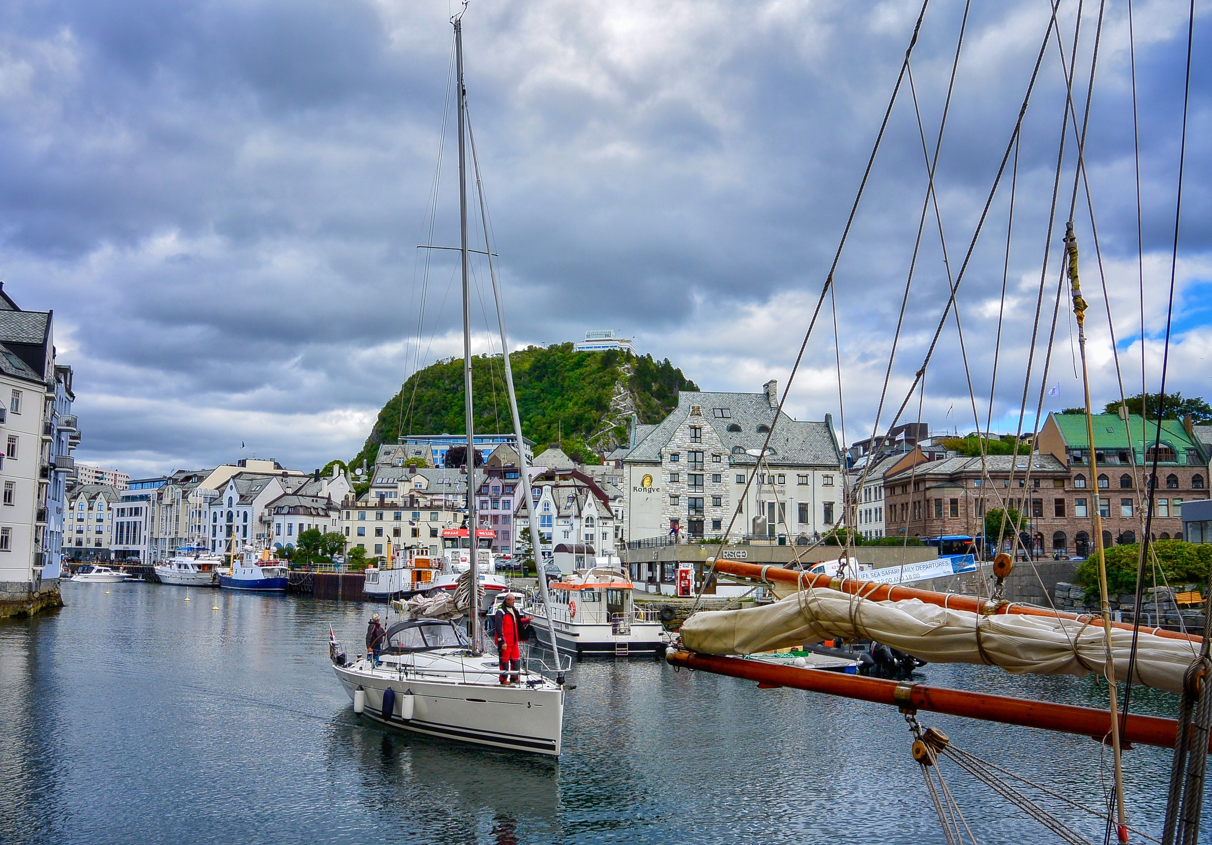 Alesund and Mount Aksla