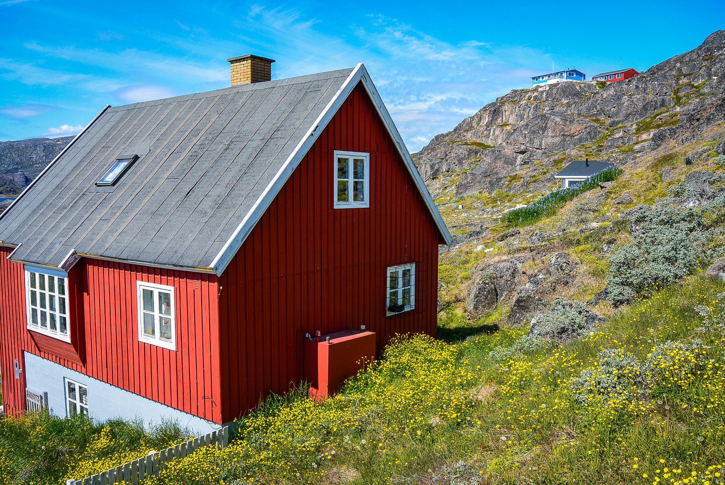 Red Greenlandic house