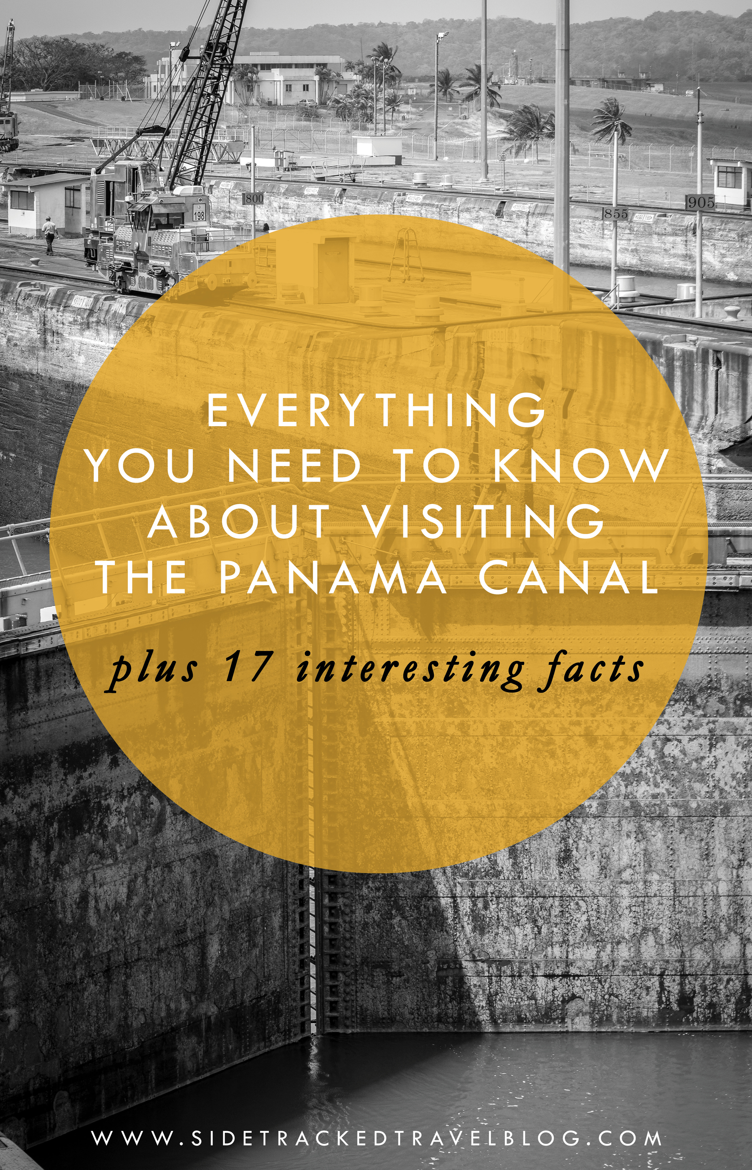 Planning a trip to Panama? Then you need to read this post full of interesting facts and useful information about the country's #1 attraction, the Panama Canal.