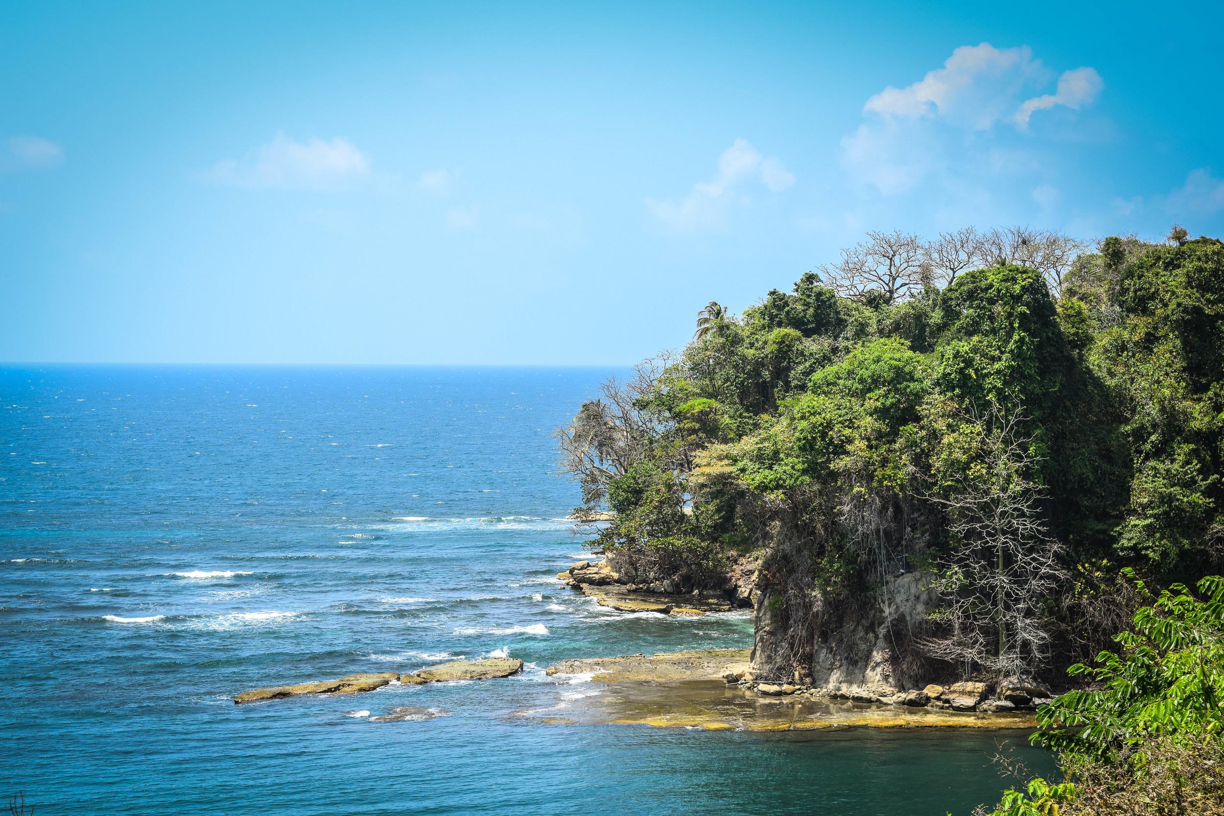 Coastline of Panama