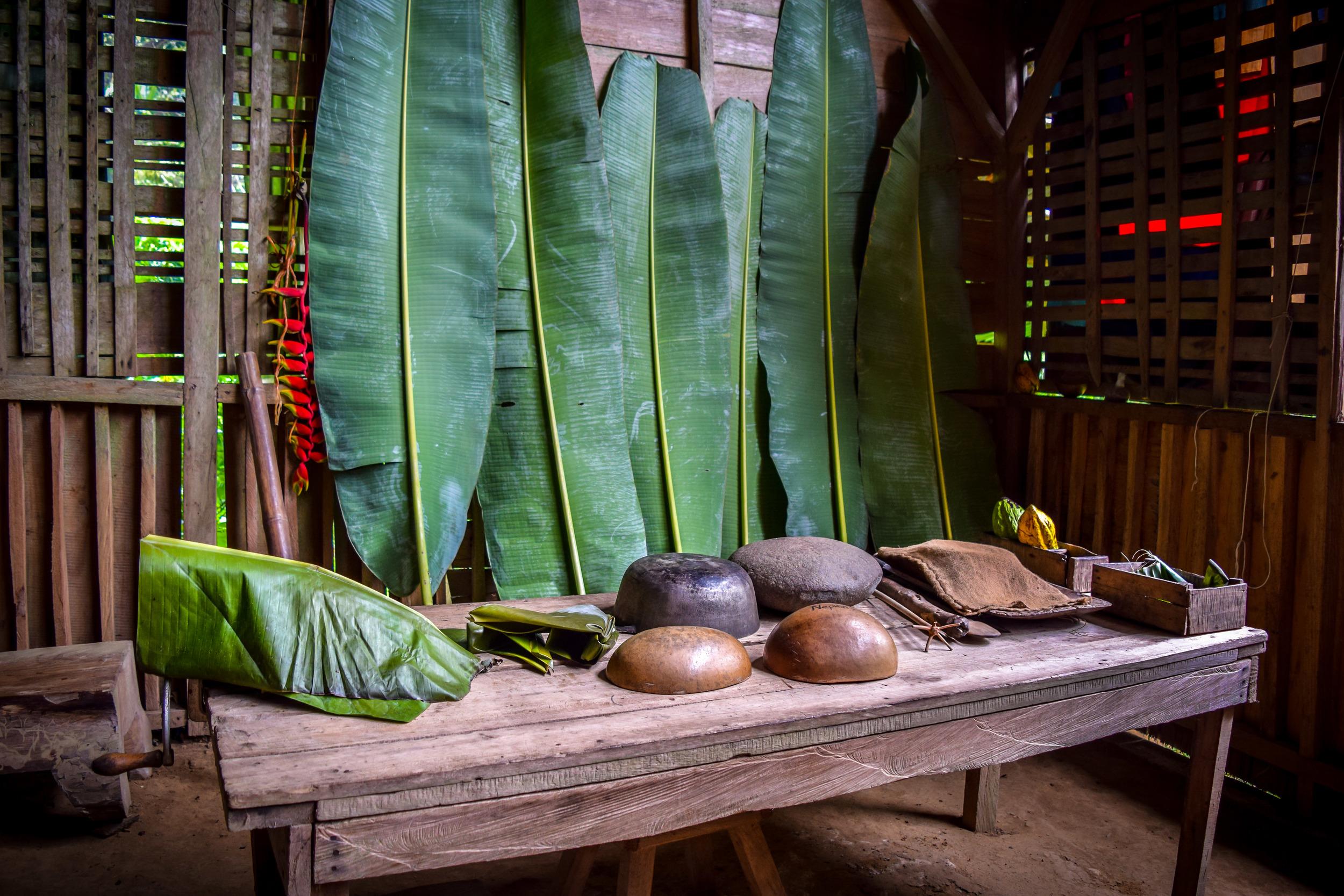 Tsiru Ue cacao house