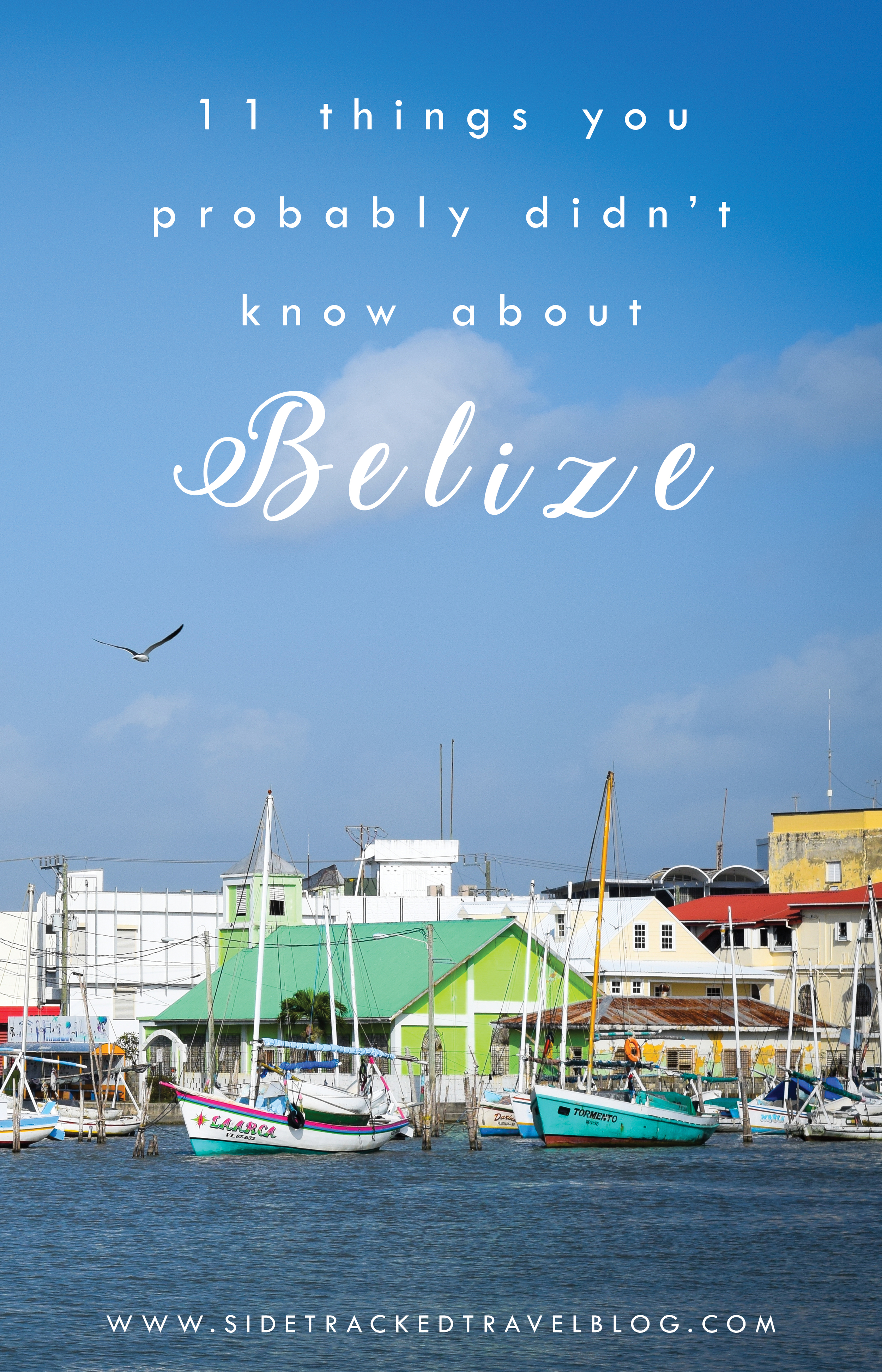 On my recent visit to Belize, I quickly realized that I knew next to nothing about this charming and diverse little country. Here are 11 things you probably didn't know about Belize!