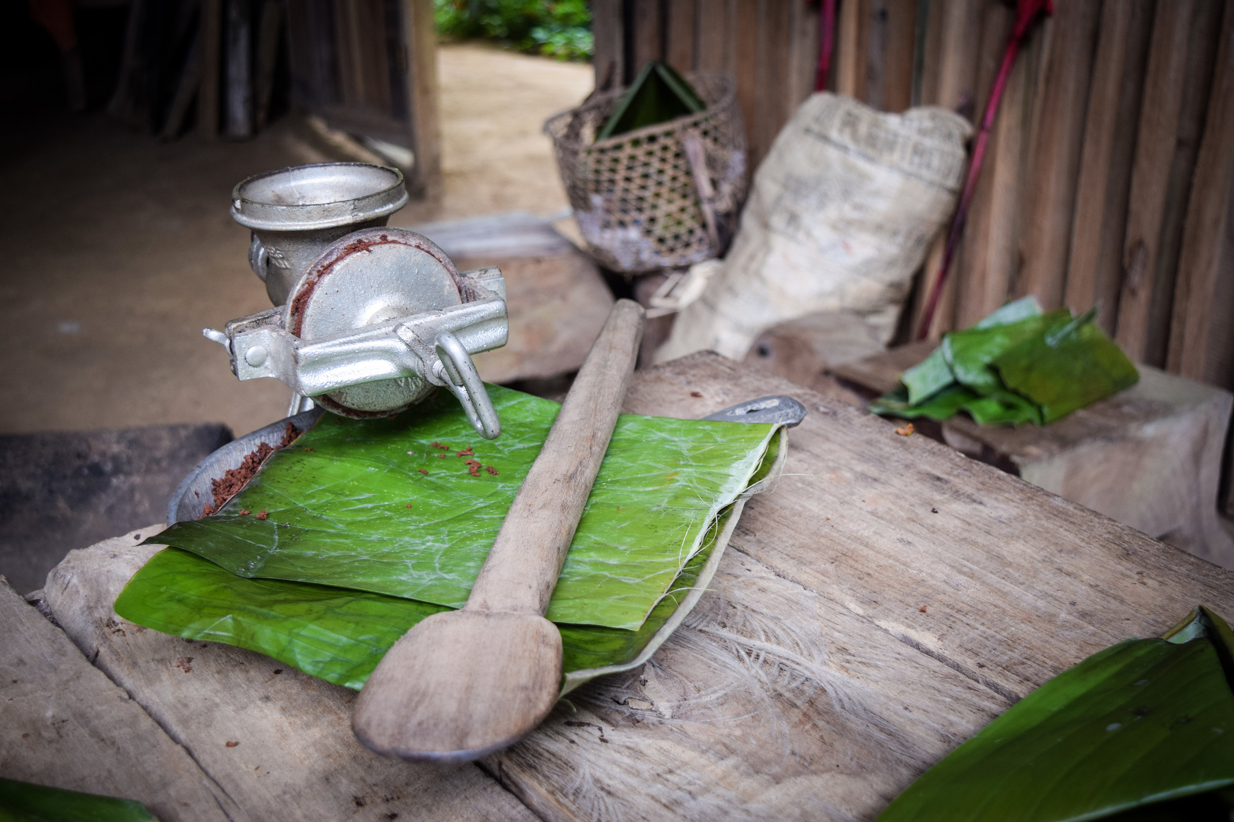 Cacao house tools
