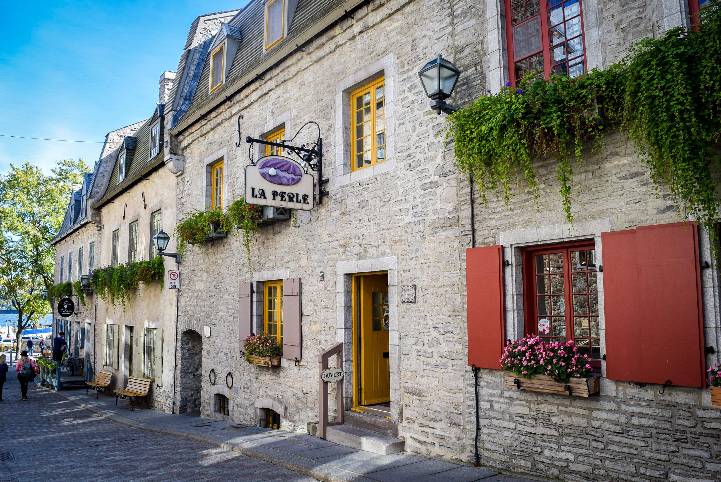 Québec City Old Town