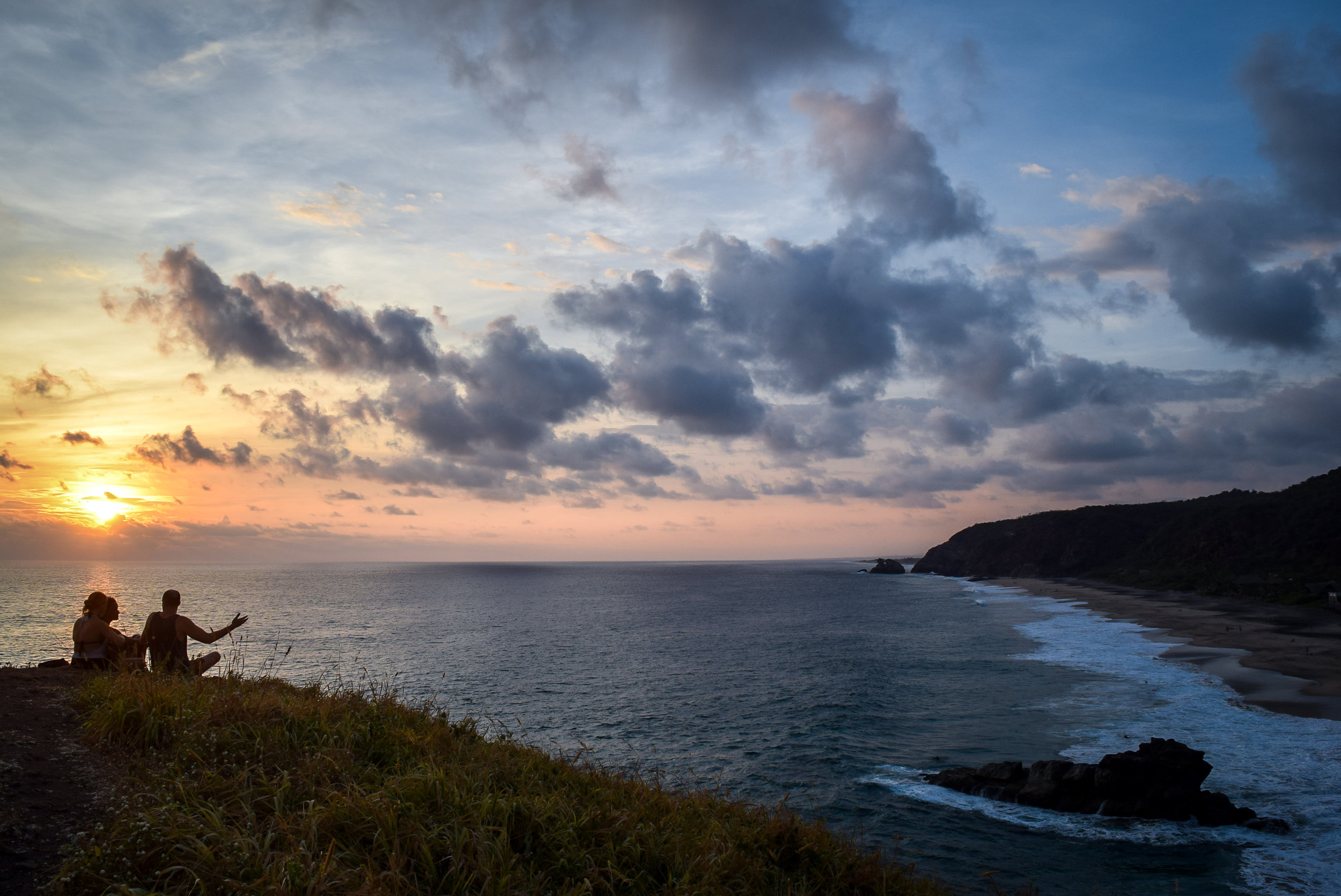 Sunset at Punta Cometa