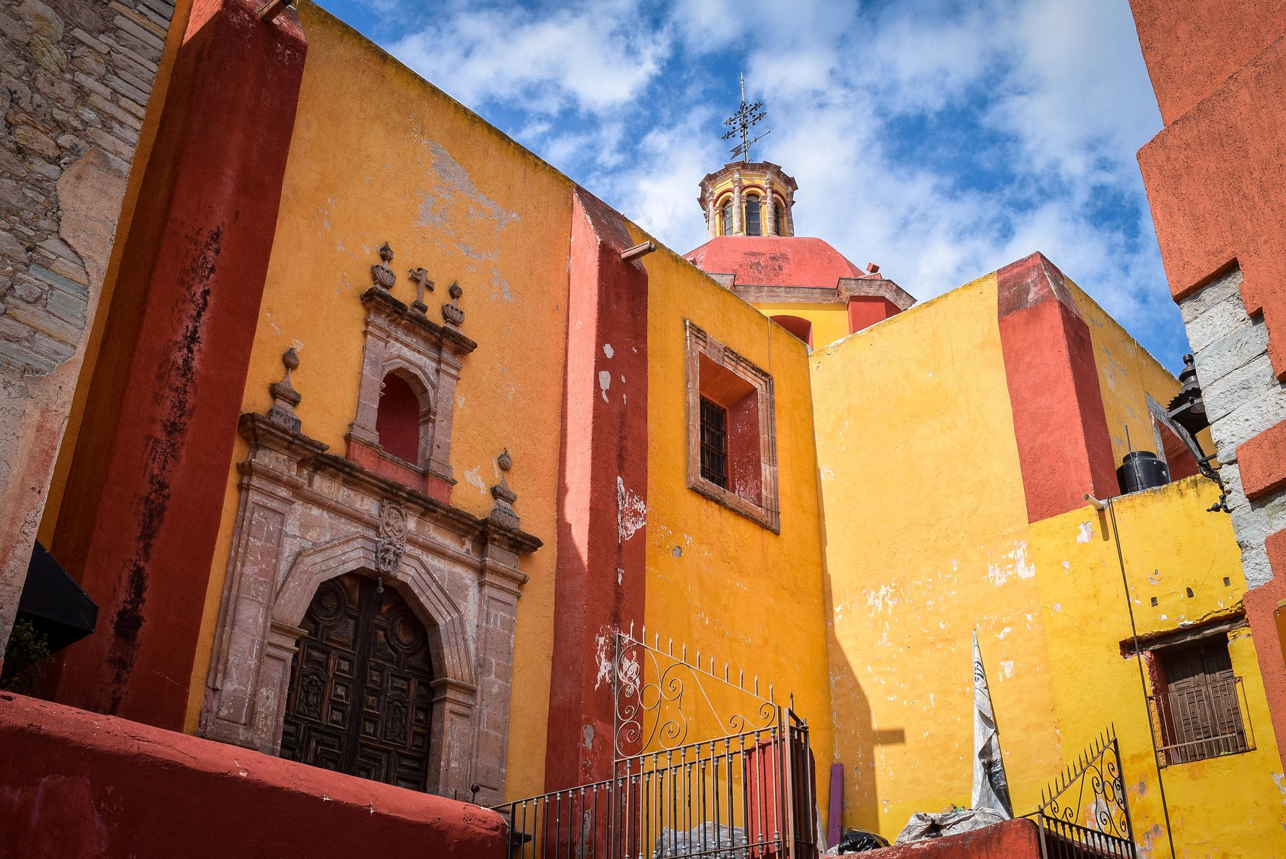 Basilica in Guanajuato