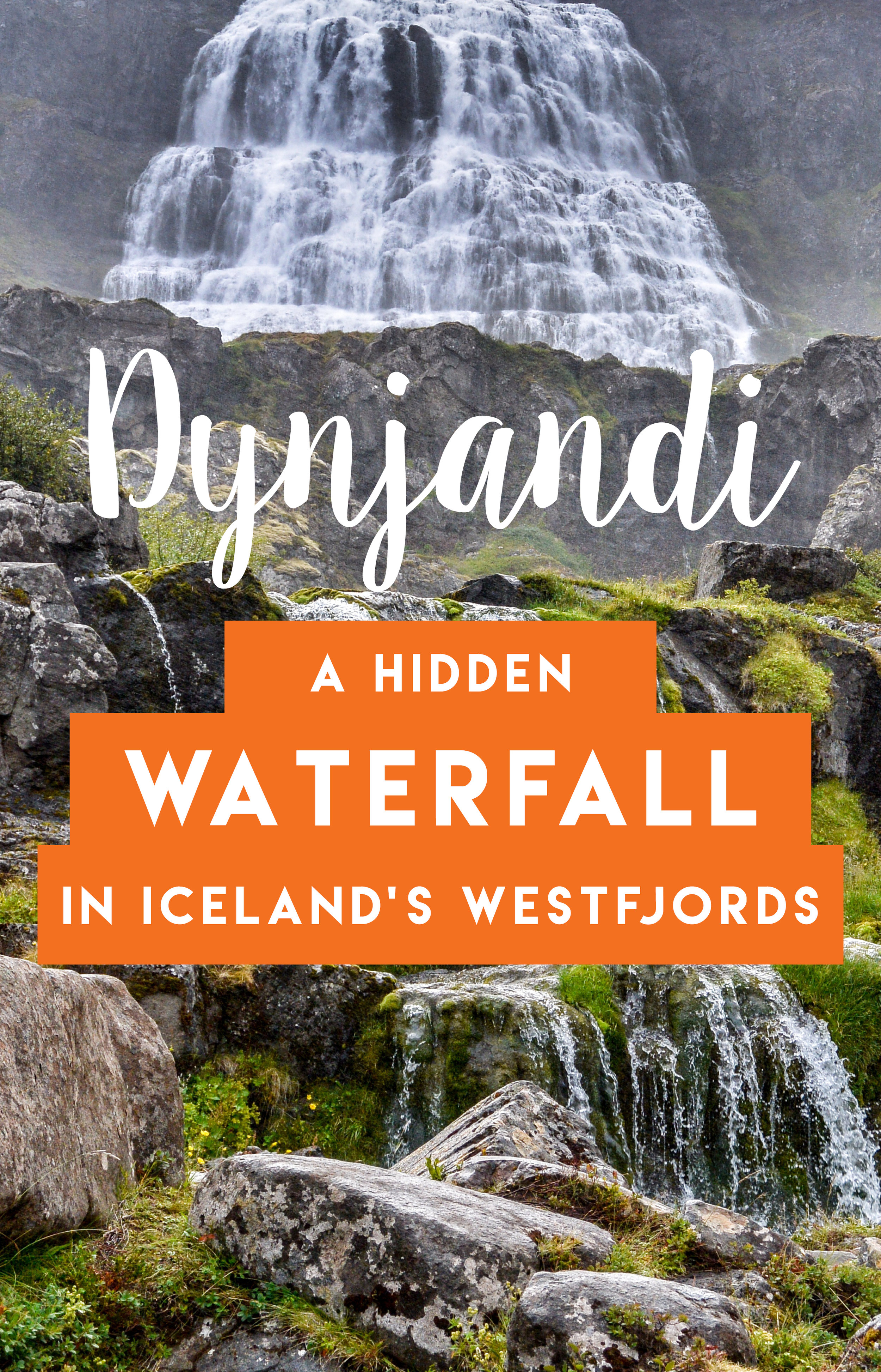Discover one of the hidden gems of waterfalls: the breathtaking Dynjandi located in Iceland's remote Westfjords.