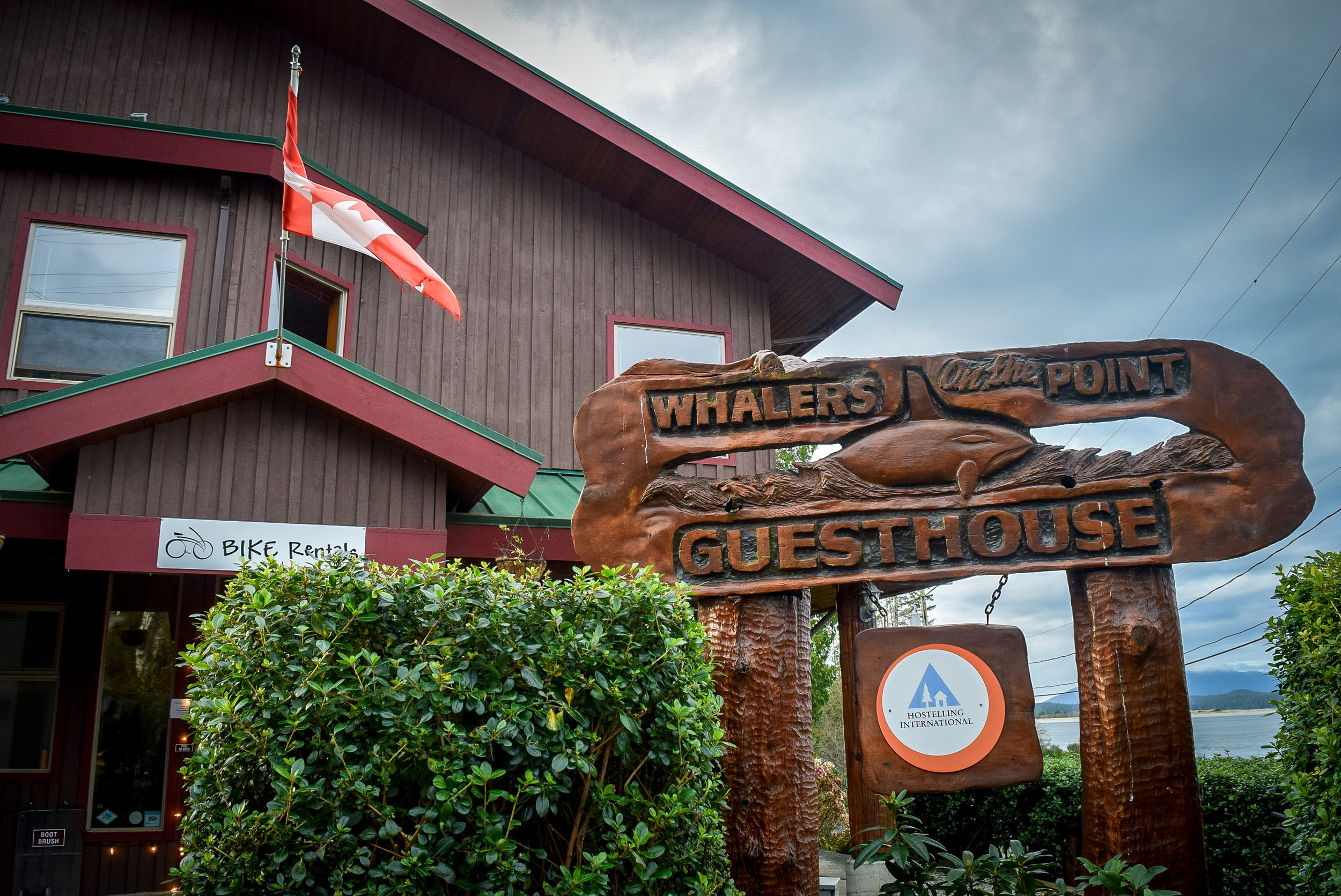 Whalers on the Point Guesthouse in Tofino
