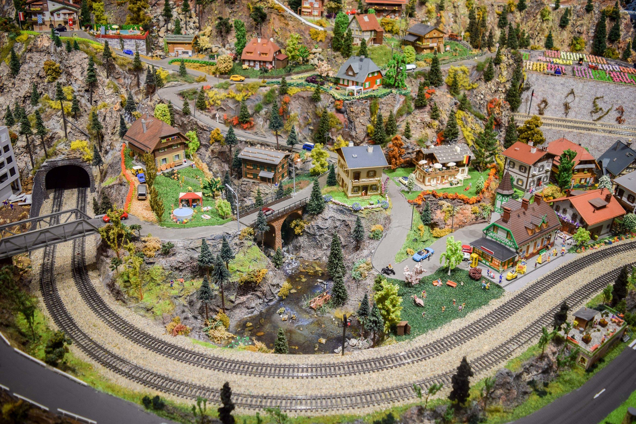 Desert Model Railroad