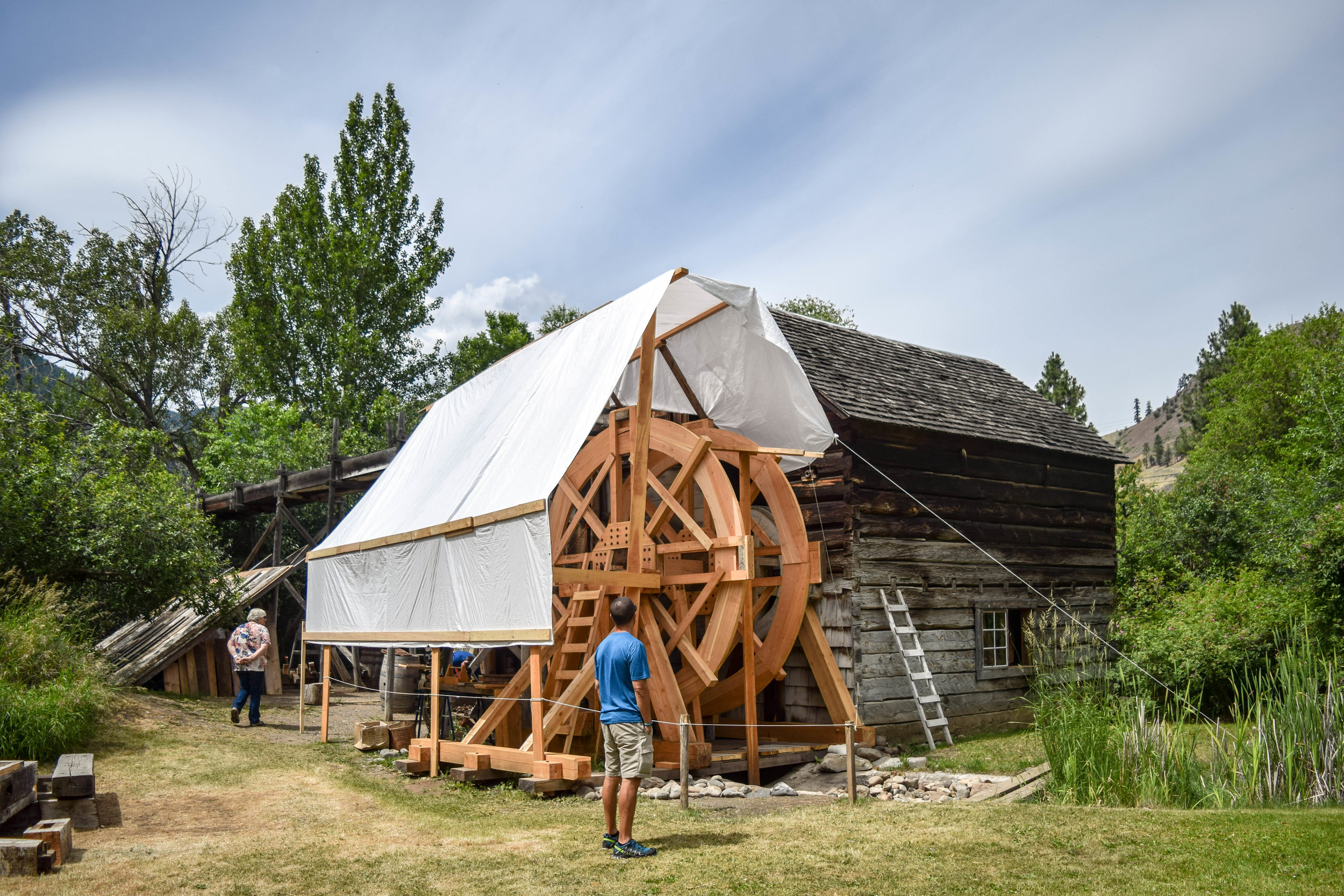 Visiting the Grist Mill: A Piece of British Columbia's Heritage
