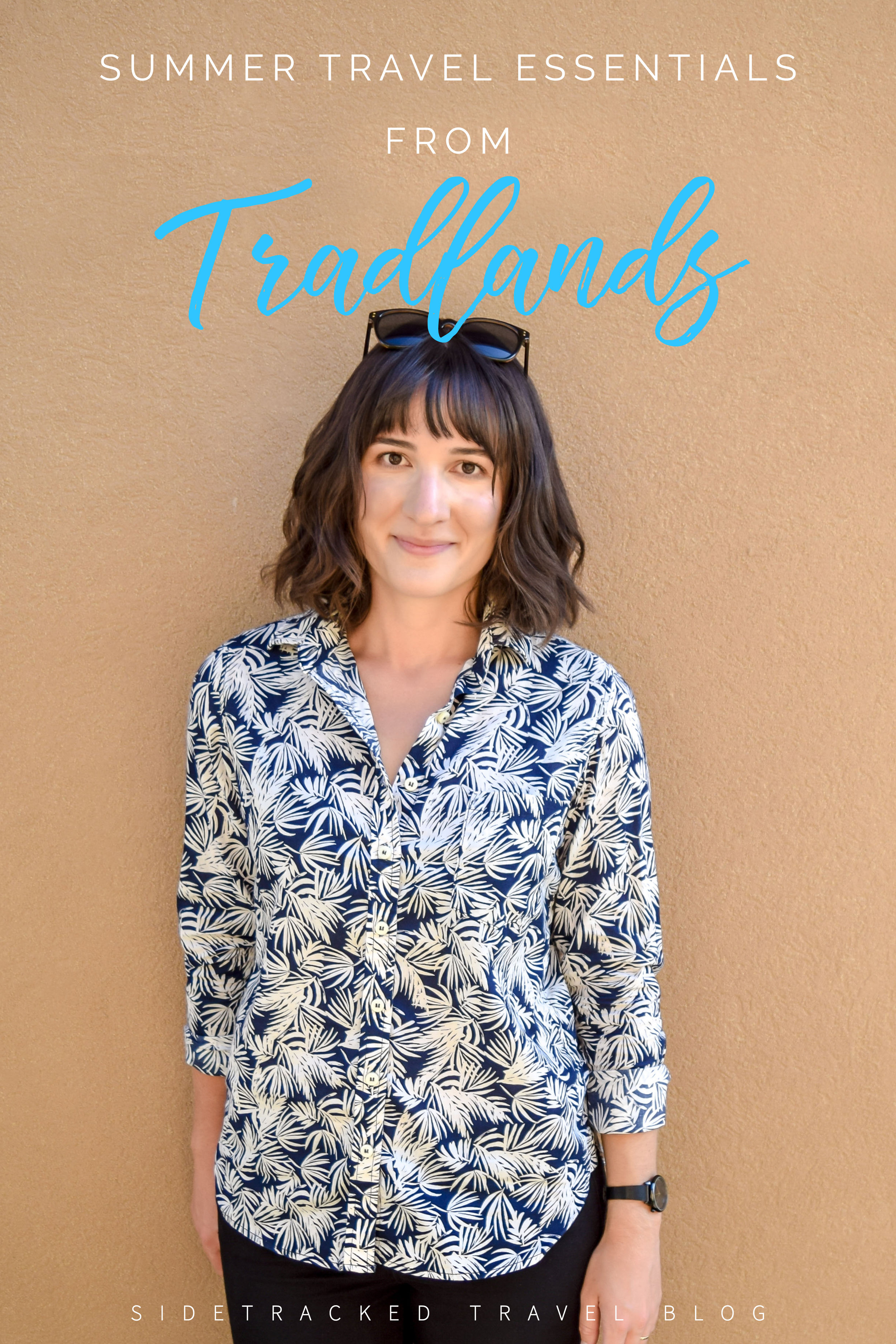 Looking for the perfect shirt to take with you on your travels this summer? Then you should definitely consider Tradlands, a Made-in-the-USA company that ethically produces gorgeous women's clothing. Here's a review of some pieces from their new summer collection.