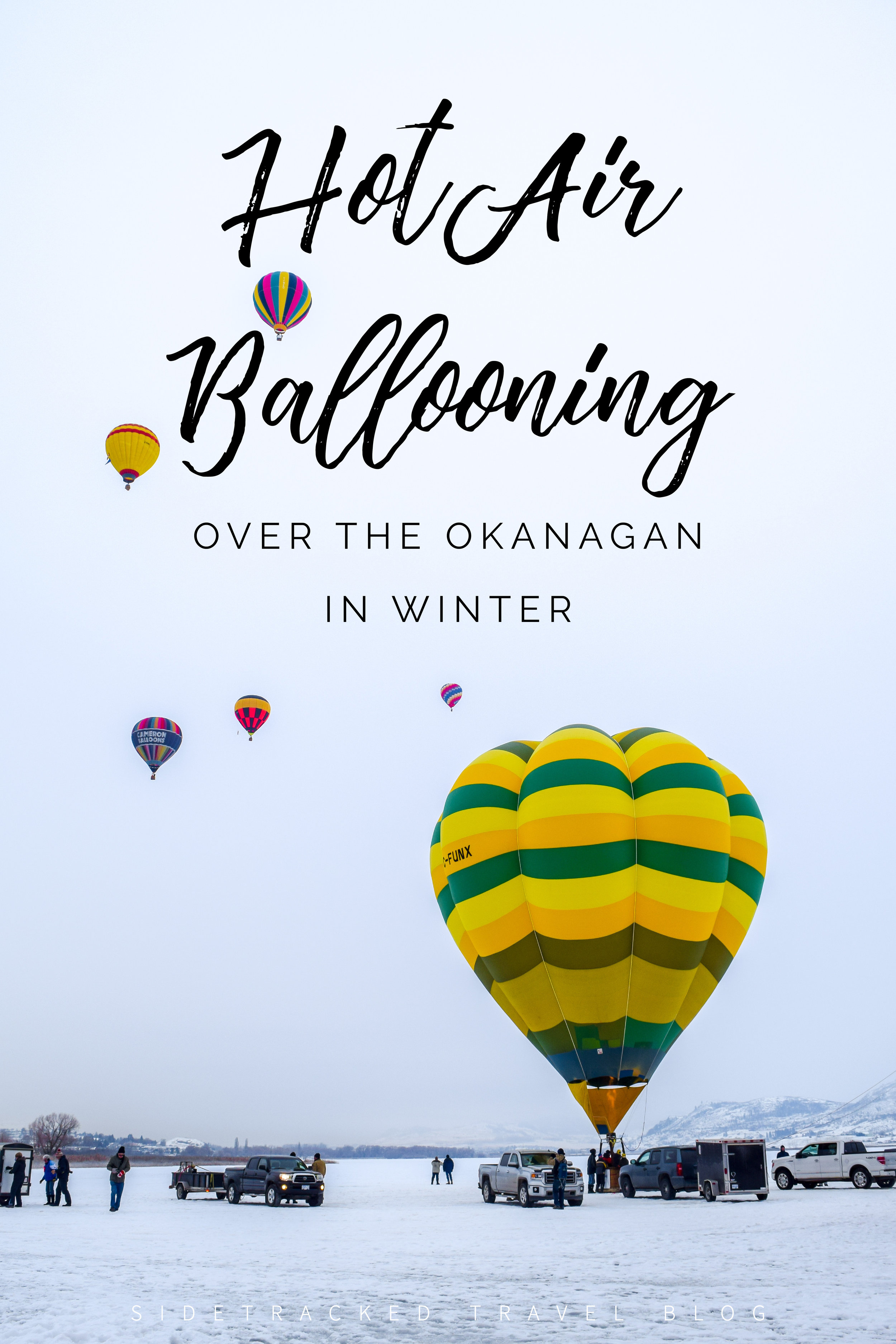 Looking to tick hot air ballooning off your bucket list? Why not do so with a snowy winter flight over the Okanagan Valley - it's an experience you won't soon forget!