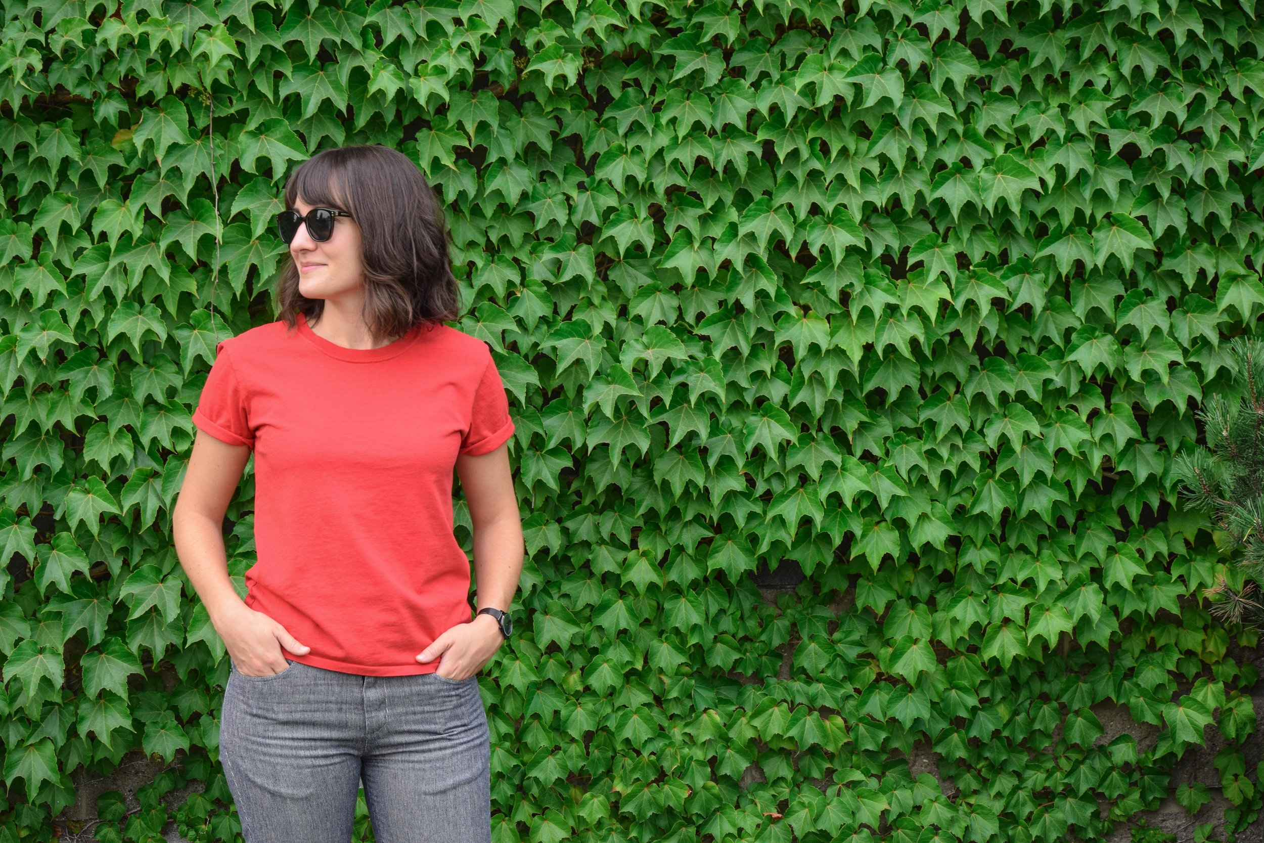 Tradlands The Catt in Ruby - 5 T-Shirts for Comfortable and Ethical Travel Wear