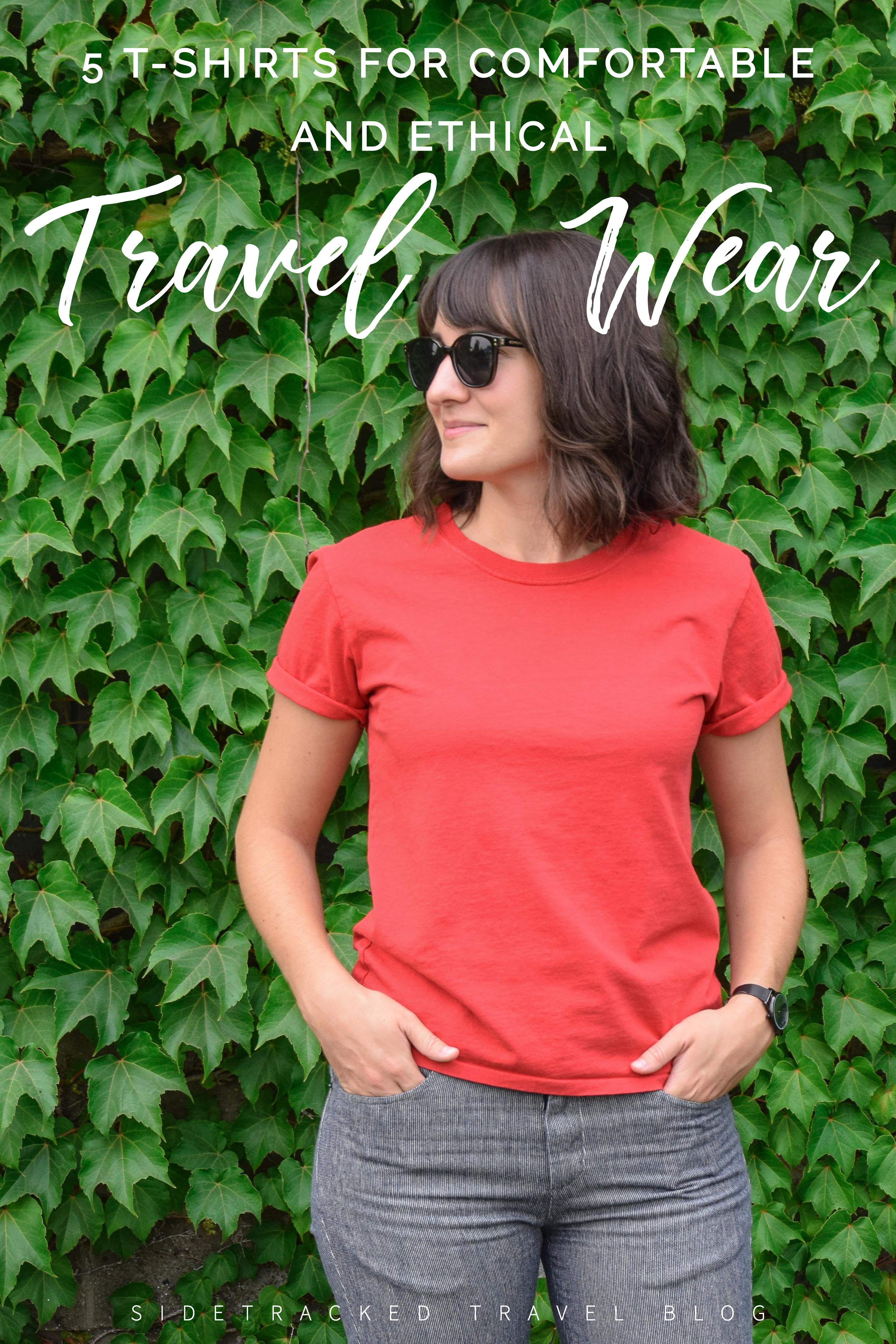 Packing the right travel clothing can make all the difference in planning a perfect trip. For your next getaway, these 5 t-shirts are ideal - plus they're ethically made and beyond comfortable!
