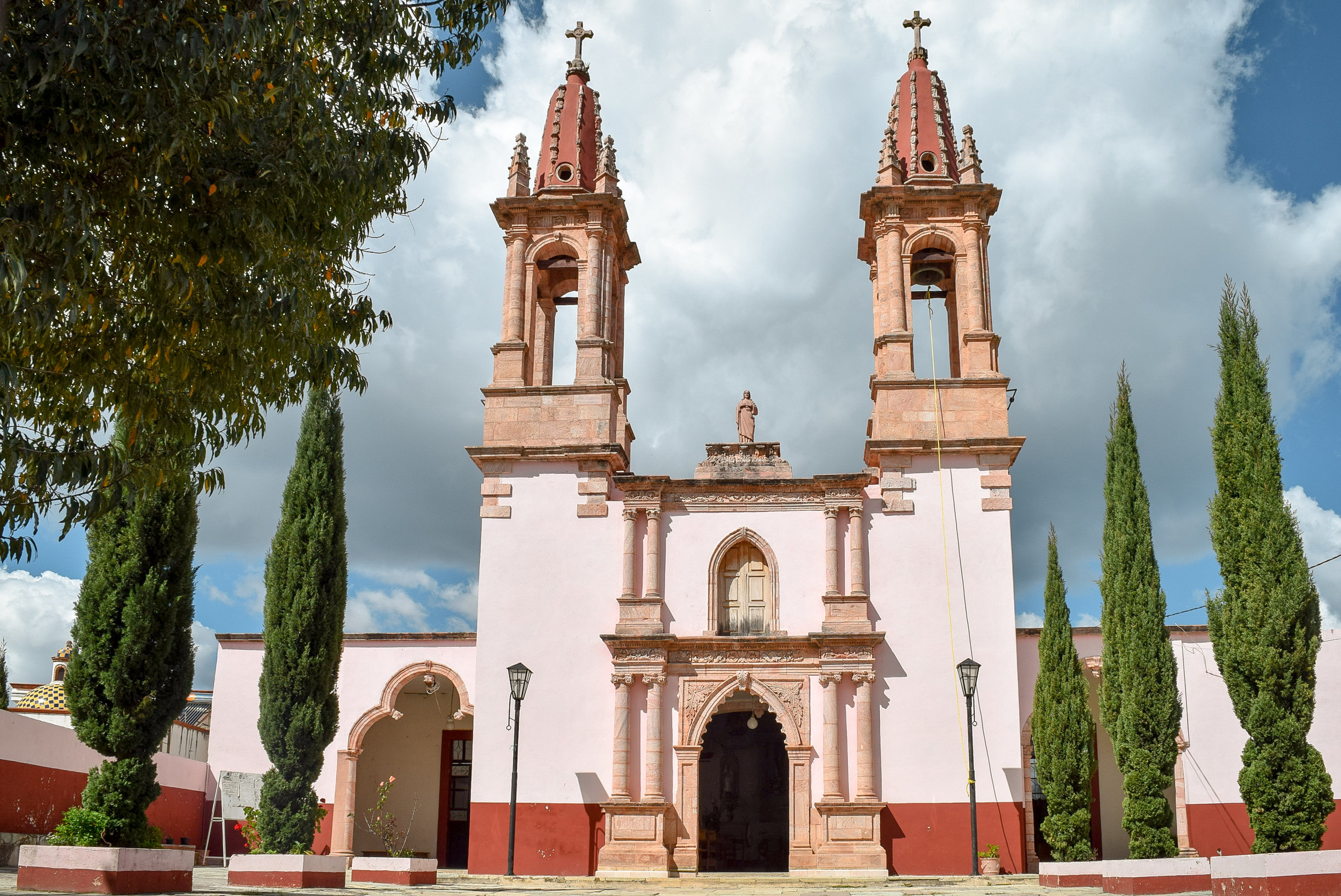Church in Santa Rosa de Lima, Mexico