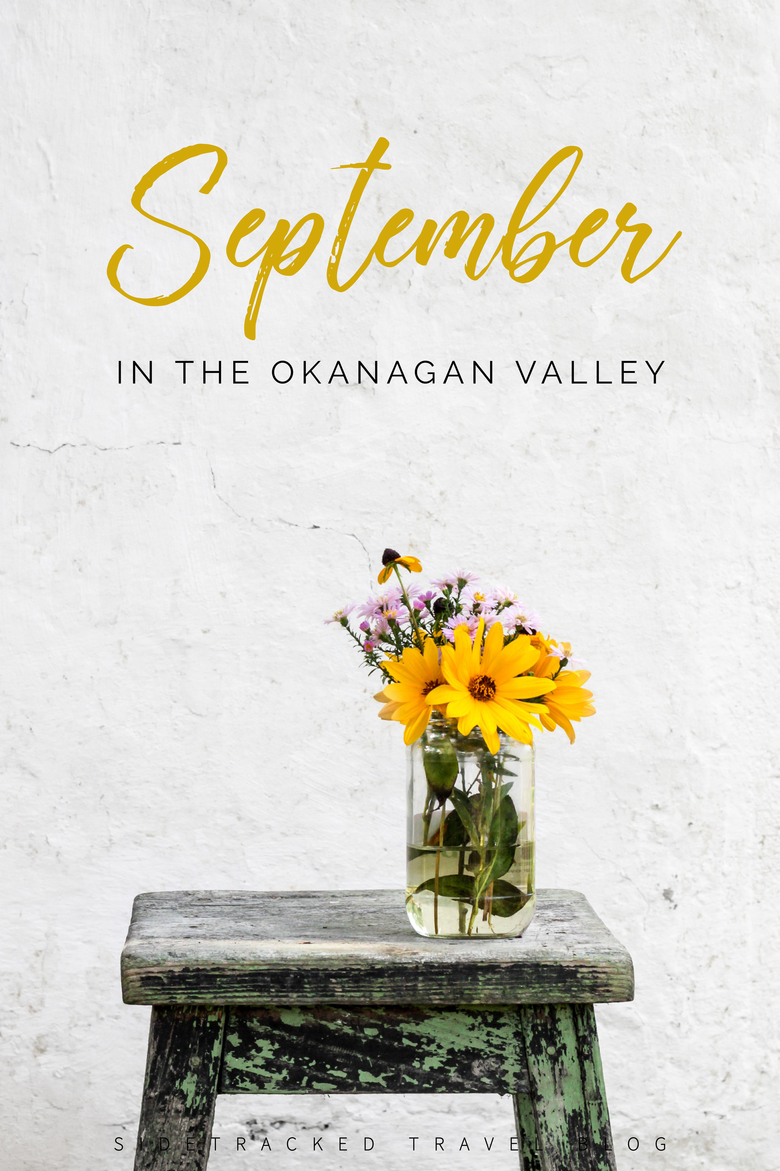 Looking for something to do in the Okanagan Valley this September? In this article you'll find a curated list of unique activities, event happenings, and other fun things taking place from now until the end of the month.