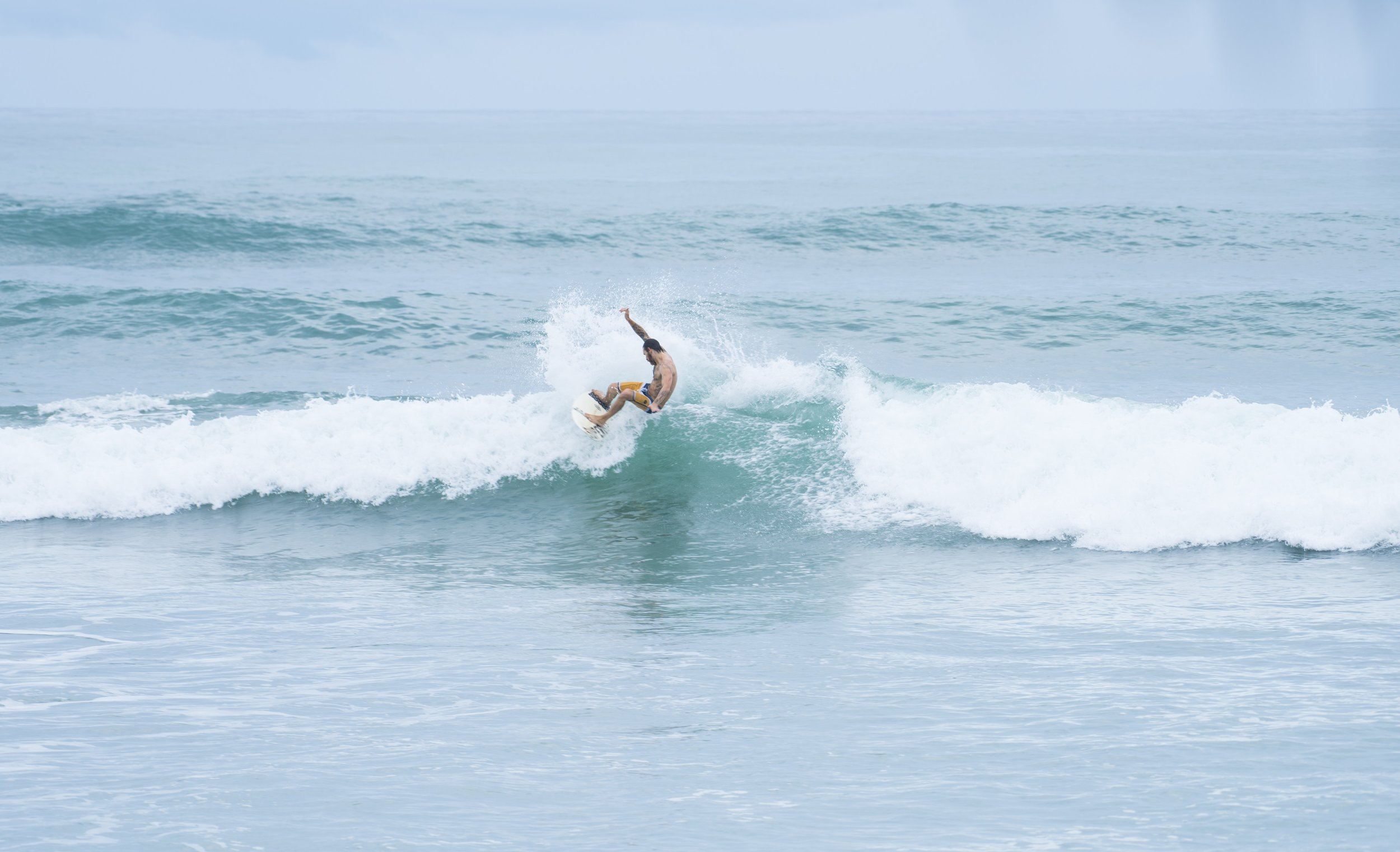 Surfer in Costa Rica