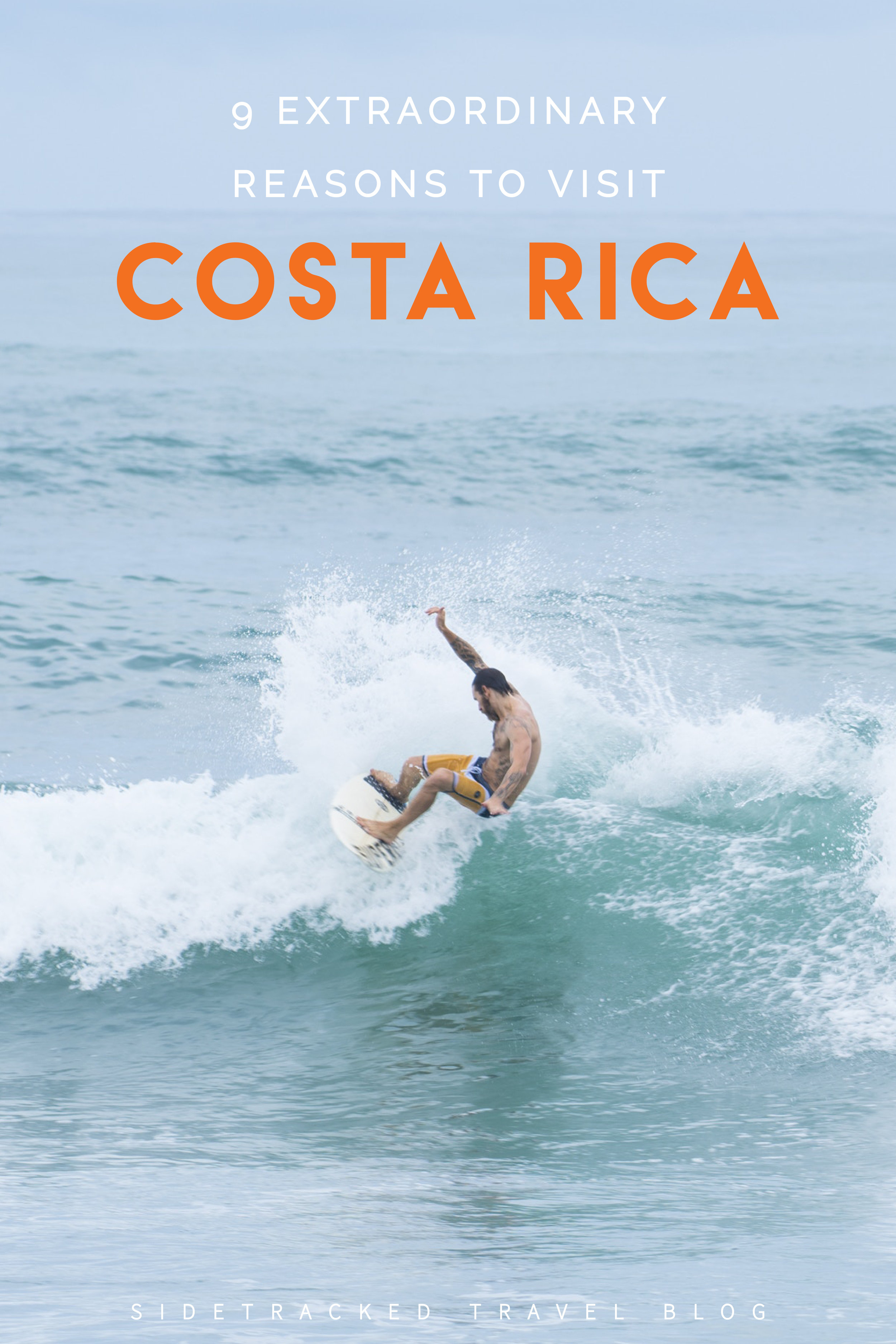 Looking for Costa Rica inspiration? You've come to the right place. To help you plan the most amazing trip, here are nine extraordinary reasons to visit!