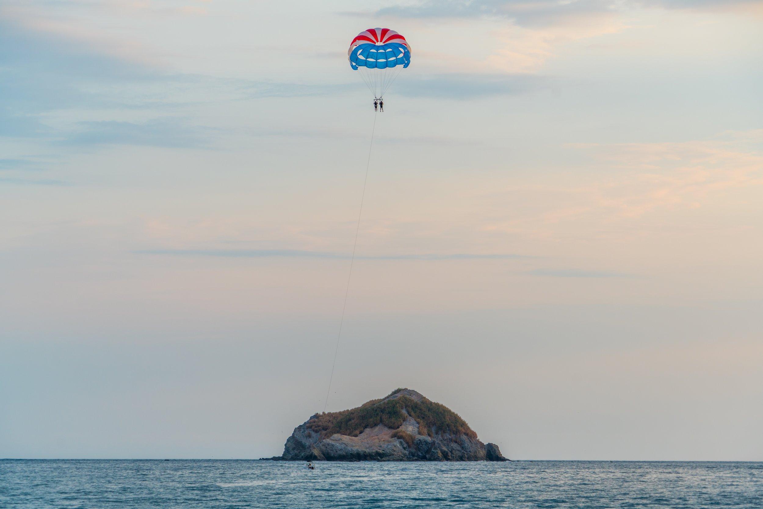 Parasailing in Costa Rica