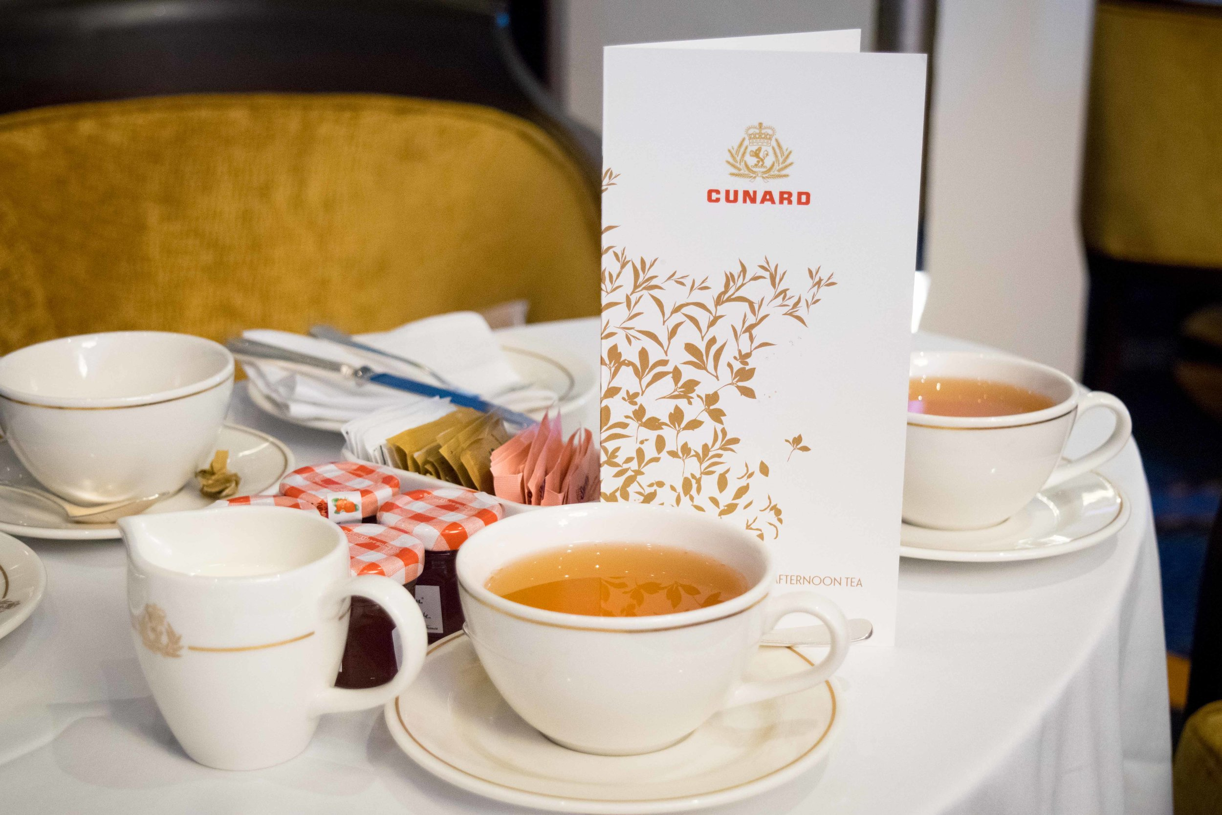 Afternoon Tea on the Queen Mary 2