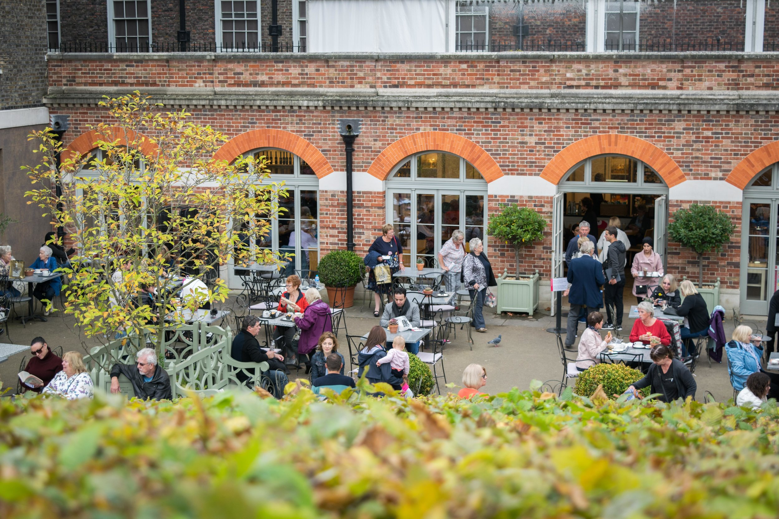 Visitor Cafe at Kensington Palace