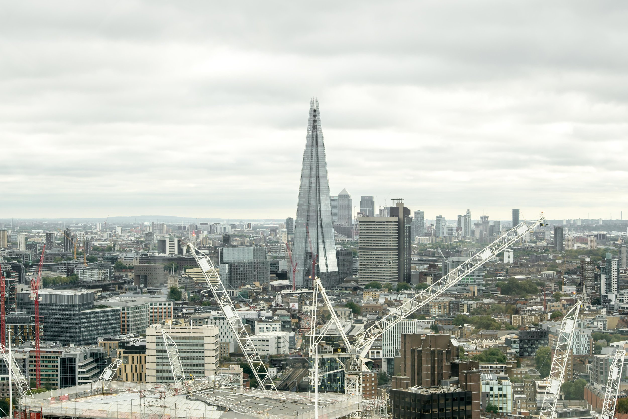 The Shard as seen from the London Eye