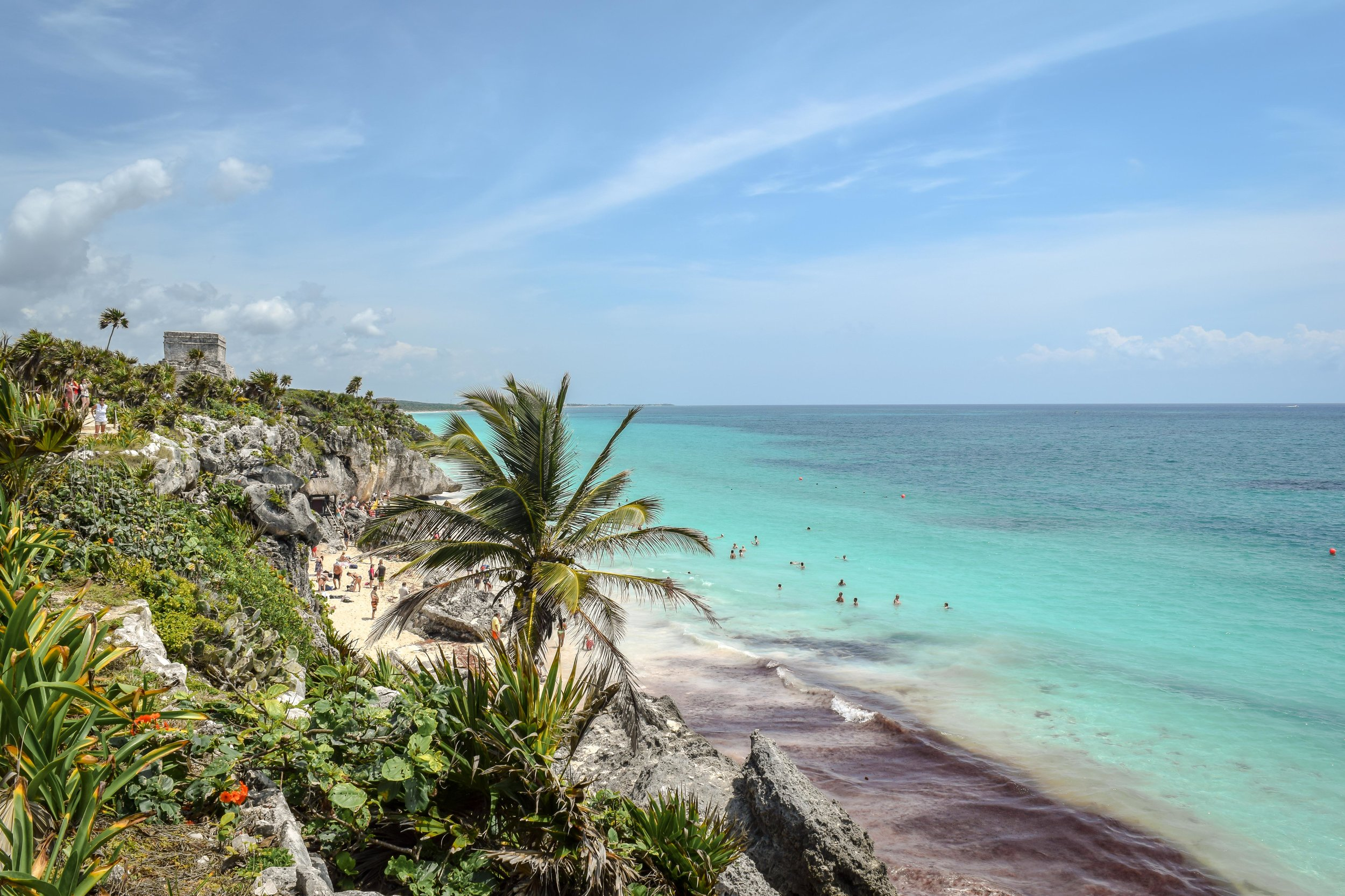 Tulum and the turquoise Caribbean coastline