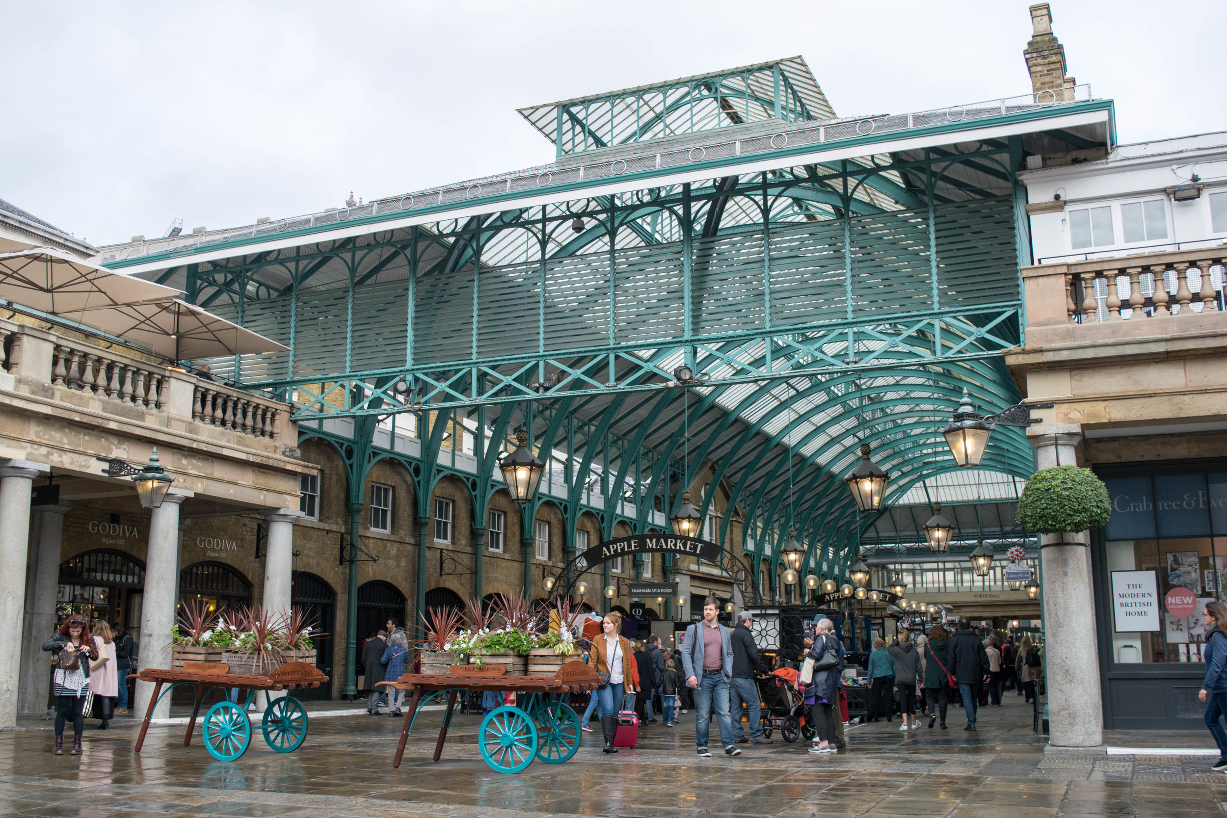 The Apple Market in Covent Garden