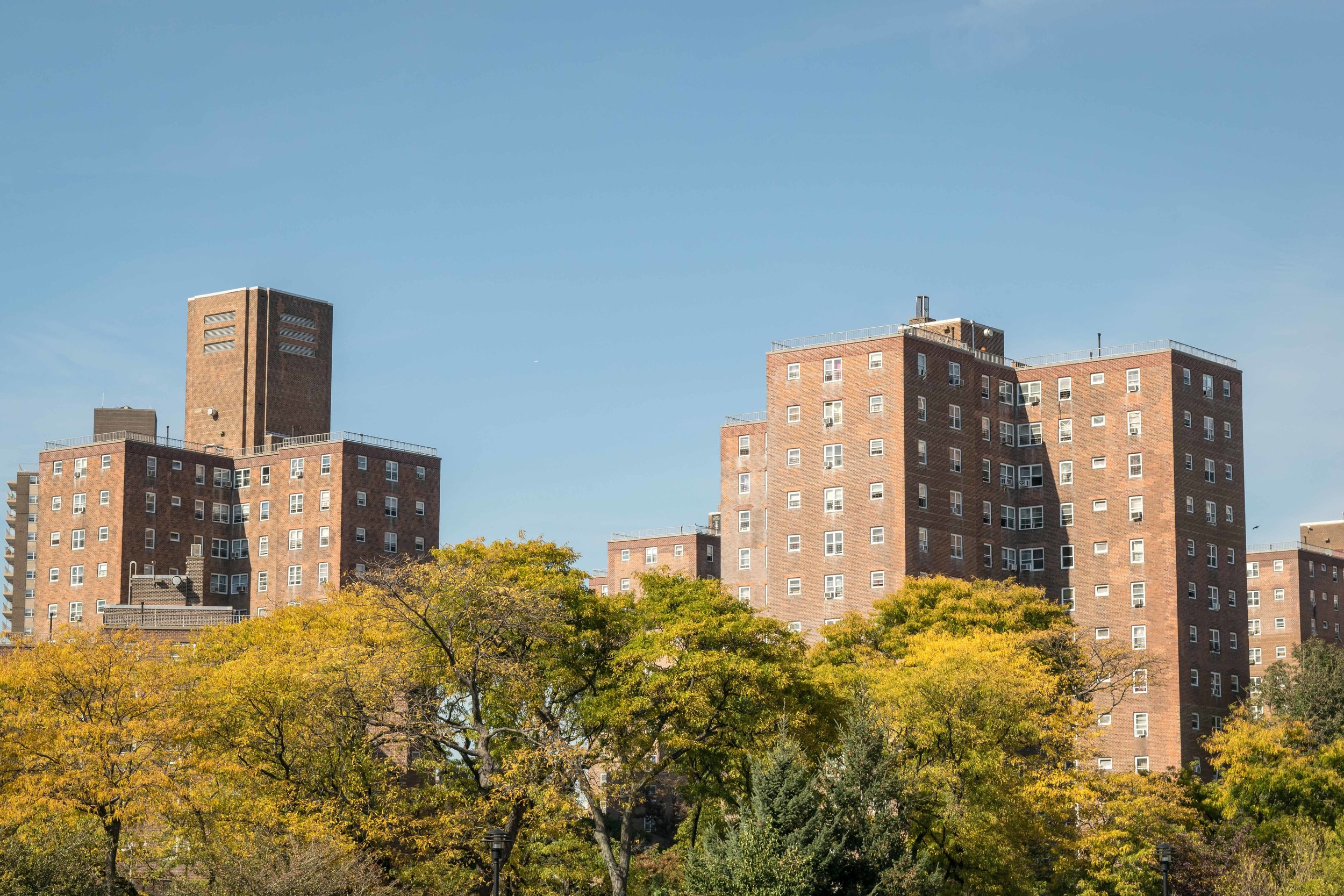 Buildings in Stuyvesant