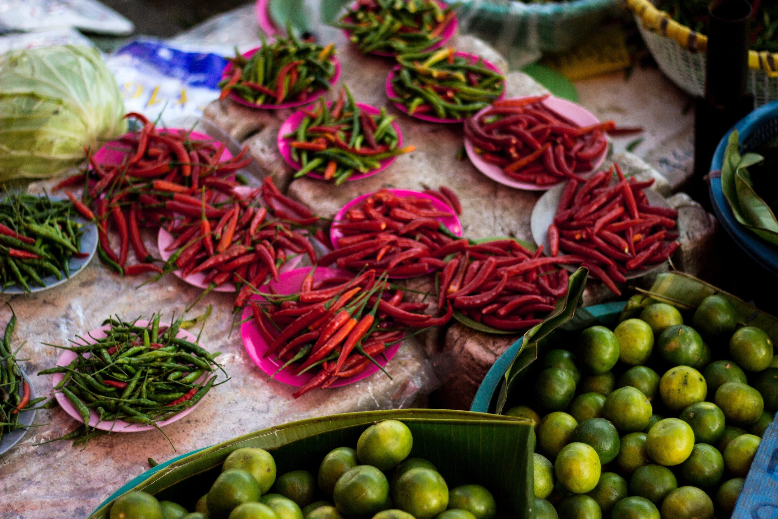 Spicy chiles