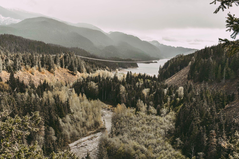Suspension Bridge in Squamish
