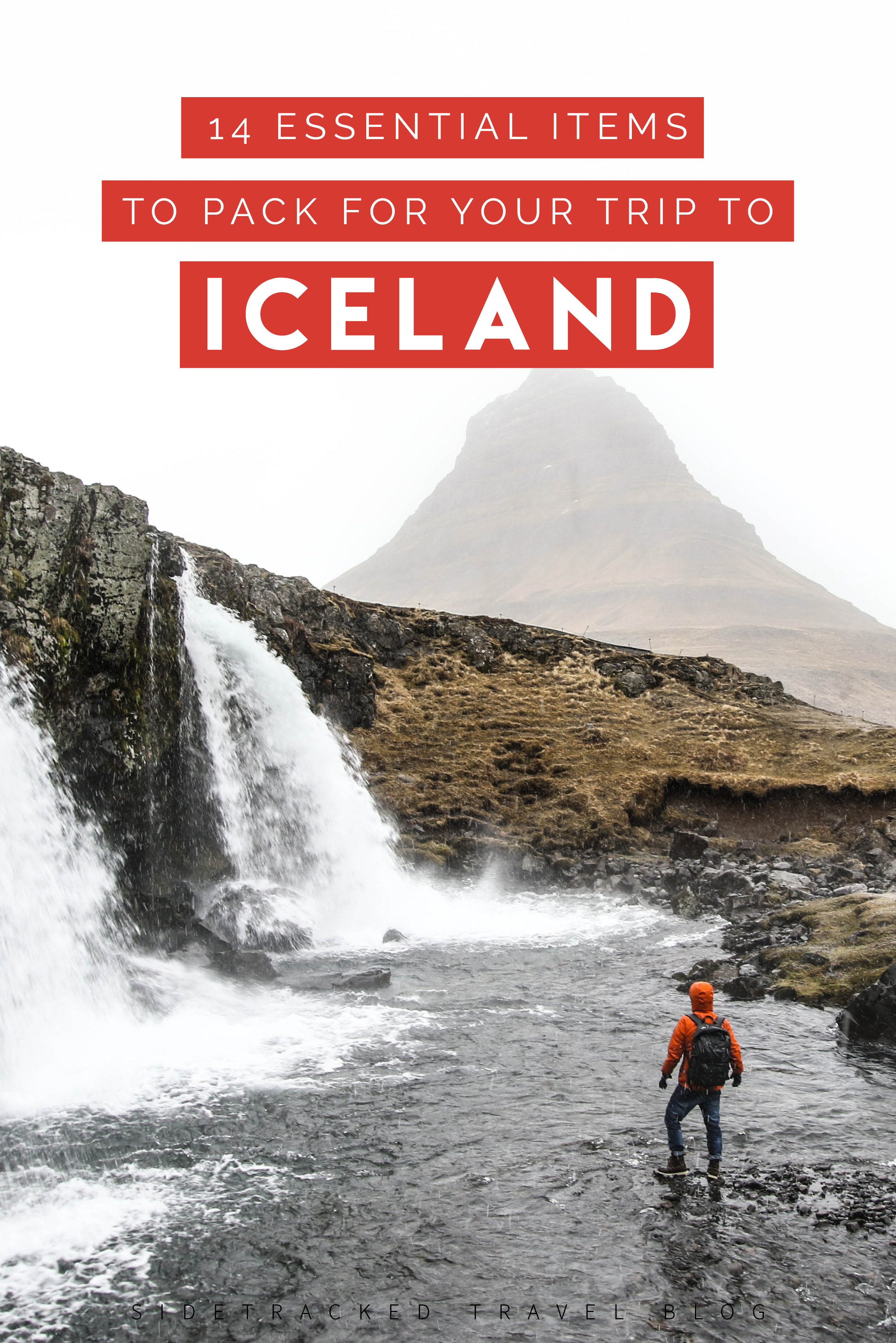 With temperatures and weather conditions constantly changing on this remote island in the North Atlantic, it's absolutely vital to pack the right things. Here are 14 essential items that will allow you to focus on having the best possible time exploring Iceland!