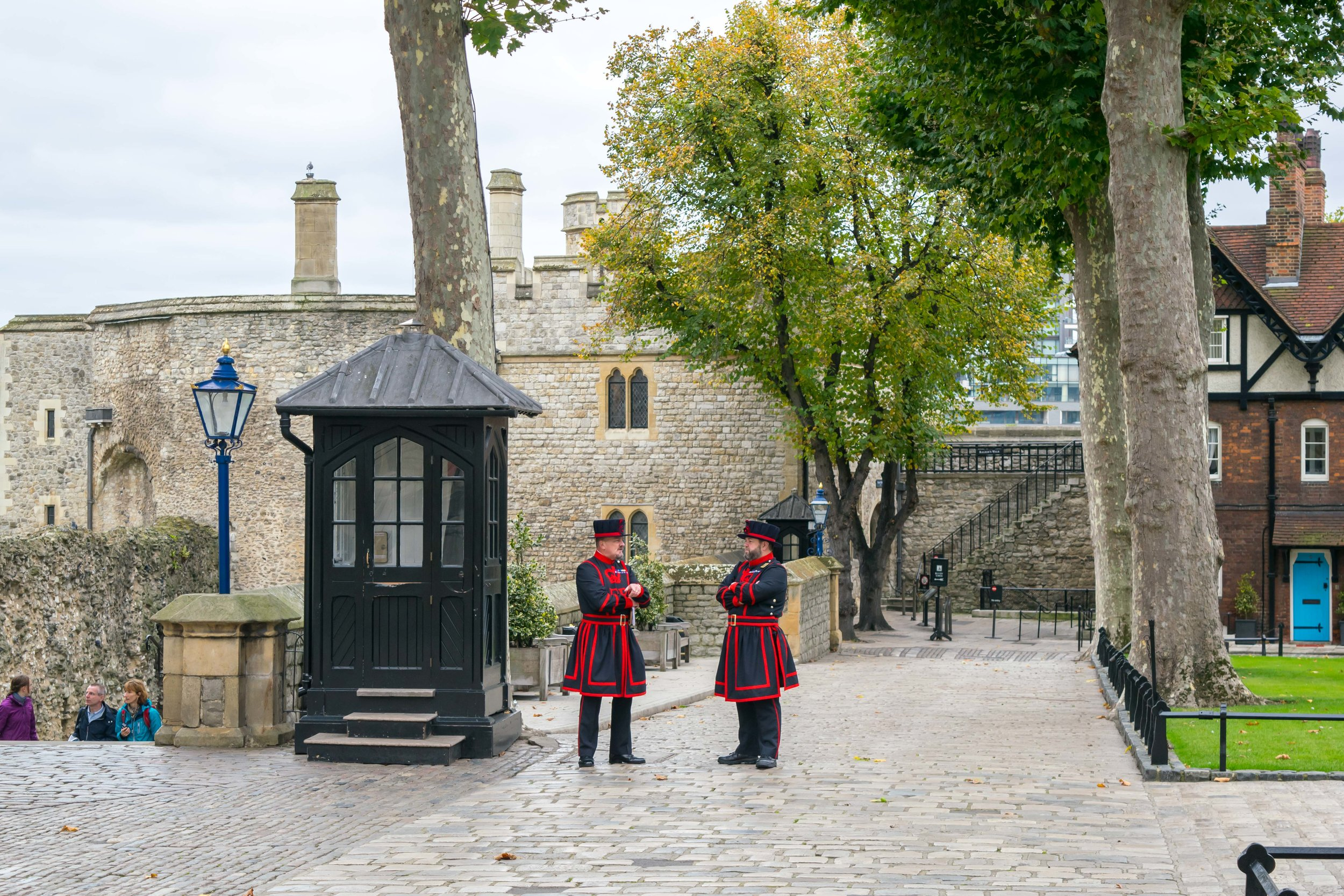 Yeoman Warder in the Tower of London