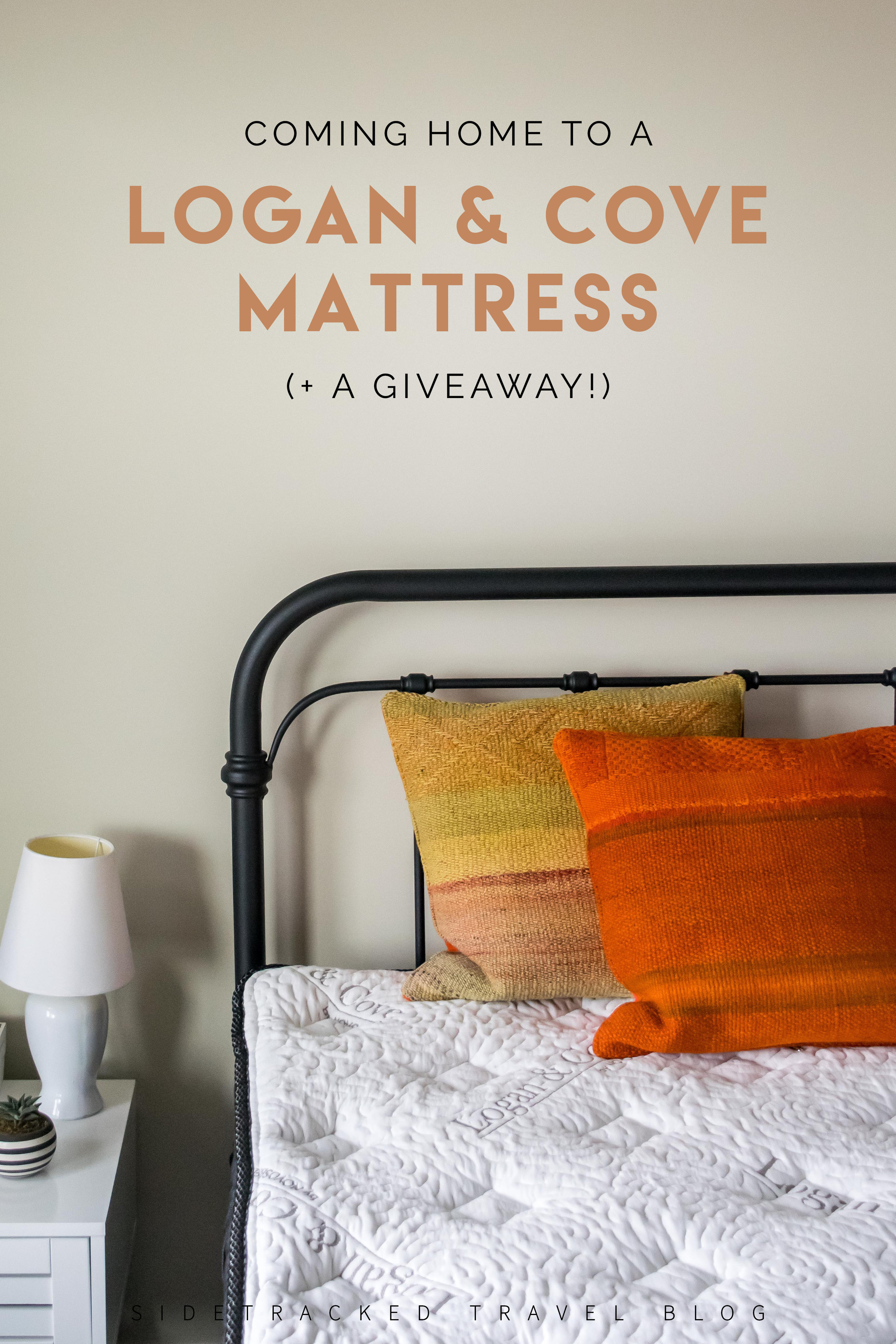 This article contains my thoughts on the importance of having a home base as well as a full review of a Logan & Cove pillow-top mattress (plus a mattress giveaway!).