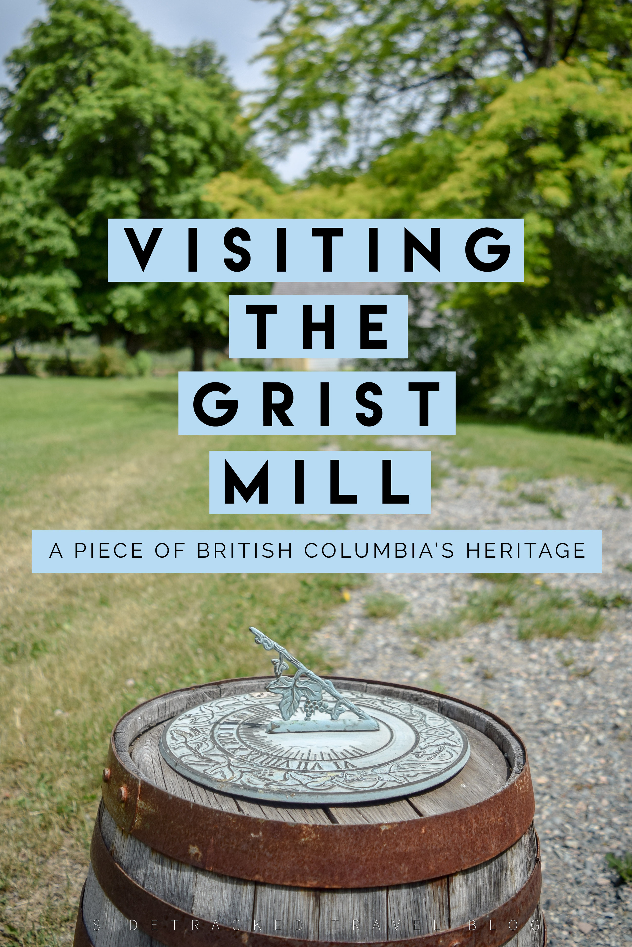 British Columbia's southern interior region might be best known for its abundance of local wineries, desert-like summer climate, and plethora of water activities, but for those of you looking to get to know the area's background and culture better, look no further than the historic Grist Mill & Gardens.