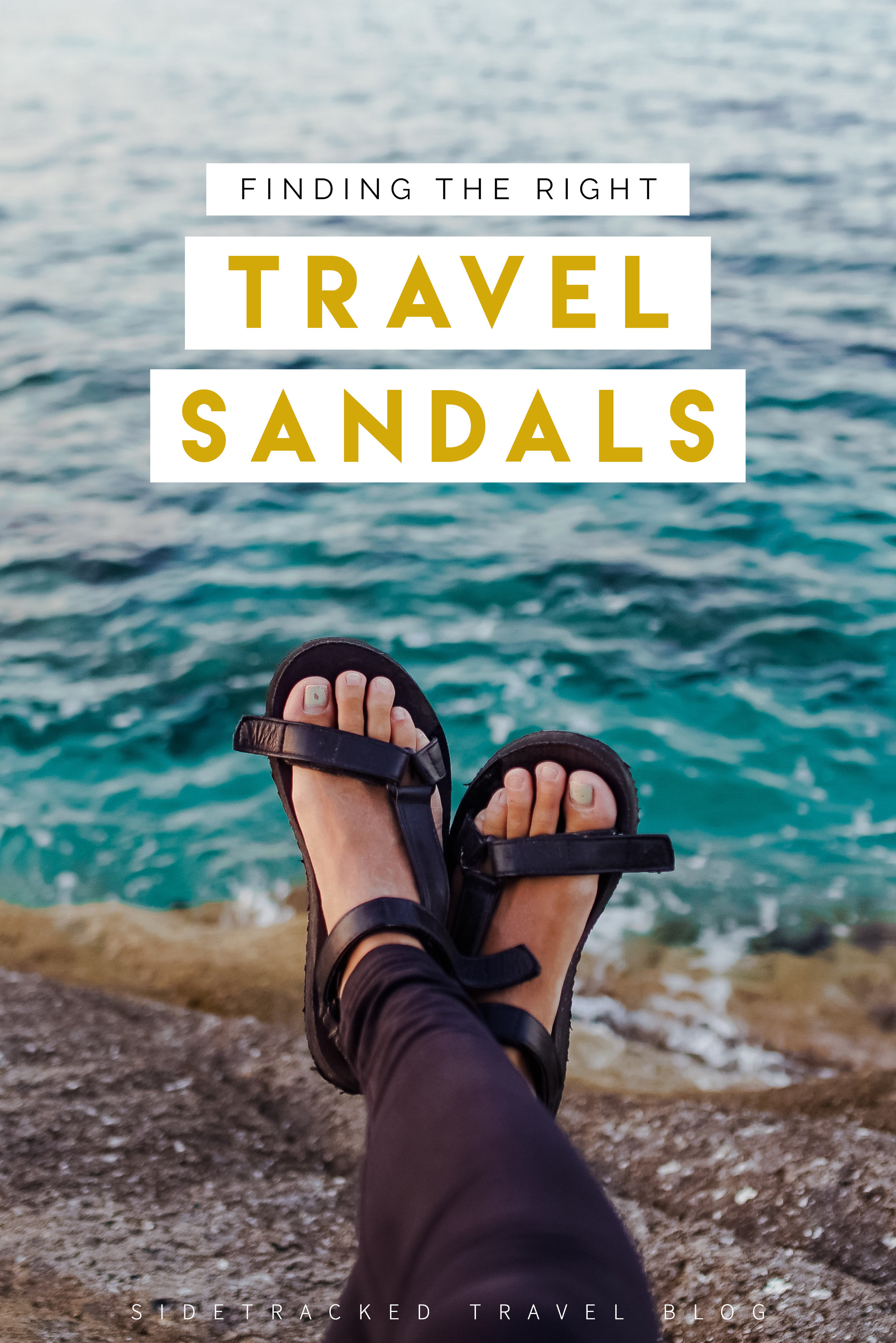 After many moons of research and years of trial and error, I've put together this guide to help you choose the right sandal, plus a few options on the market today that are perfect for travel!