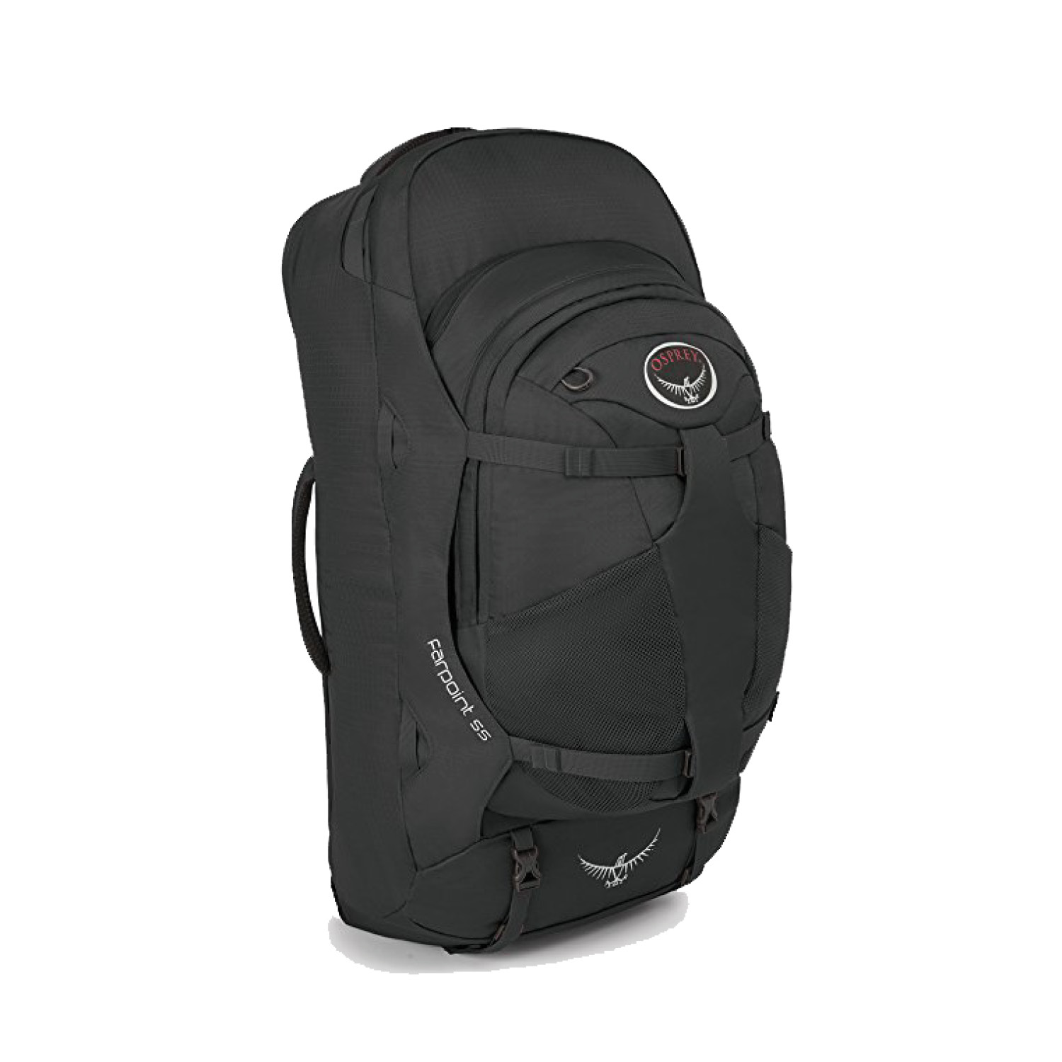 osprey  farpoint 55 - 40L travel backpack+ detachable 15L daypack