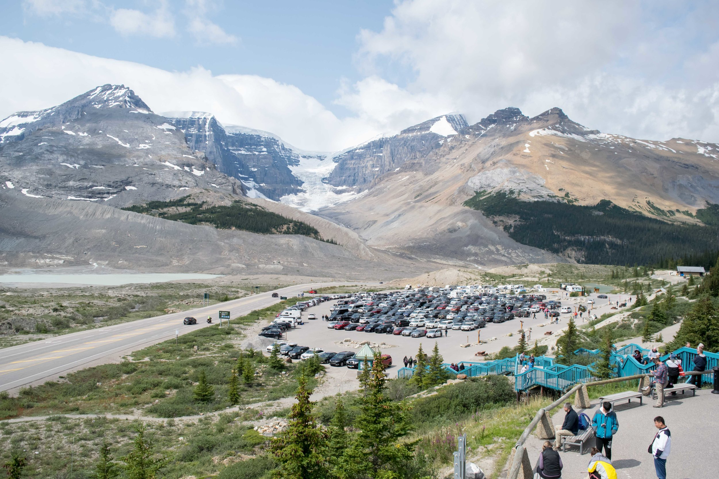 Columbia Icefields and Snow Dome