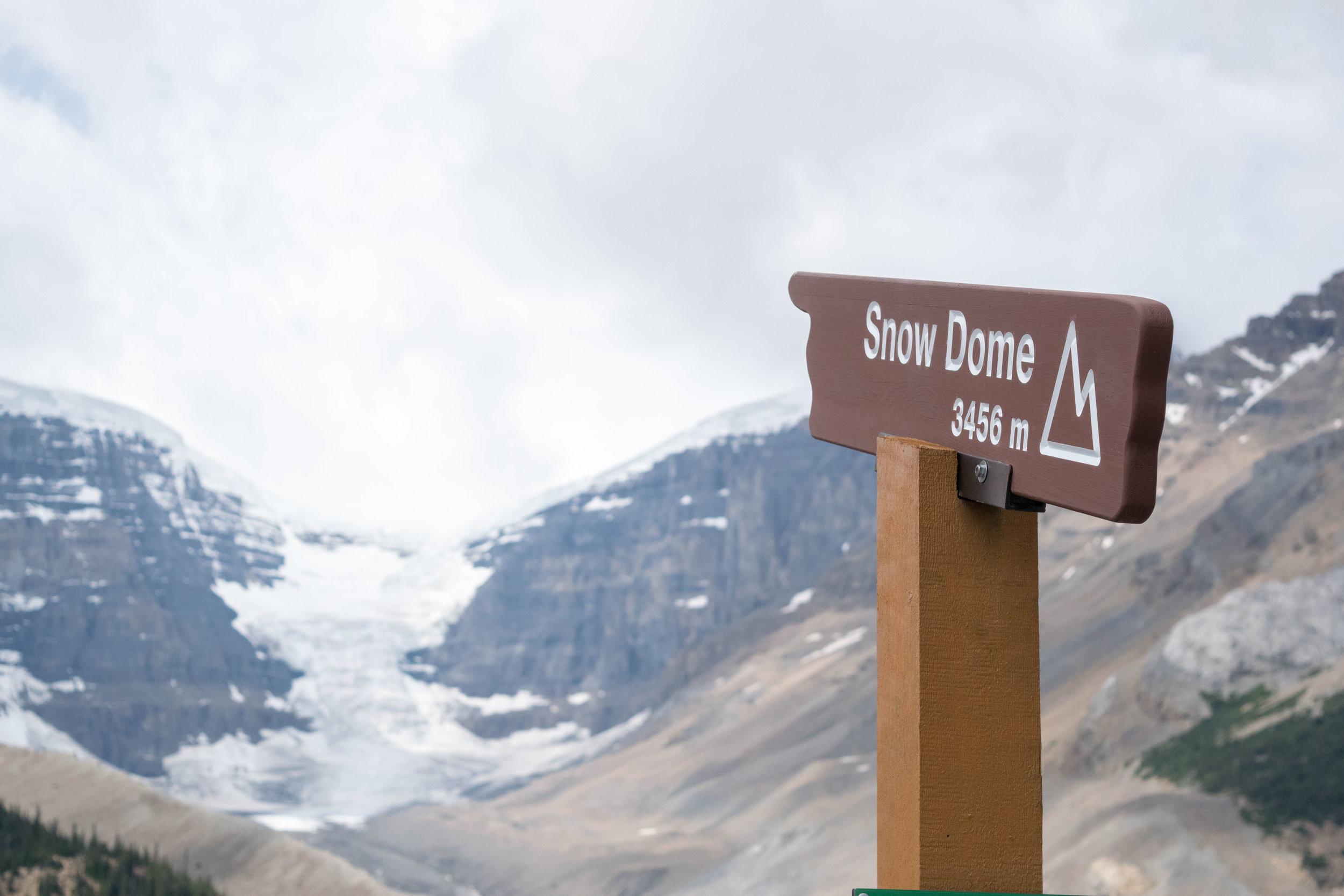 Snow Dome Glacier, Columbia Icefields