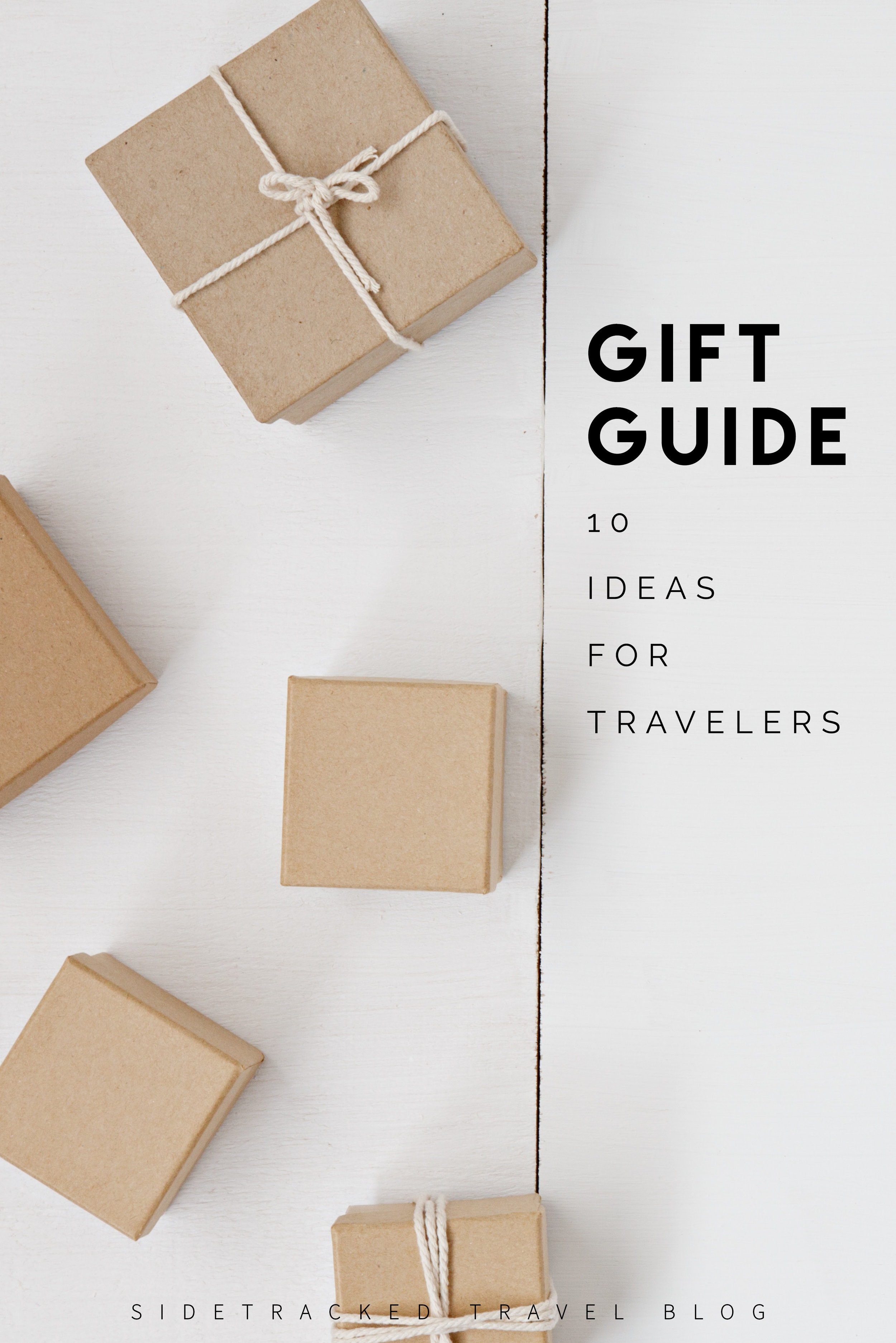In this article you'll find a list of 10 ideas of varying budgets that would make great gifts for the traveler in your life.