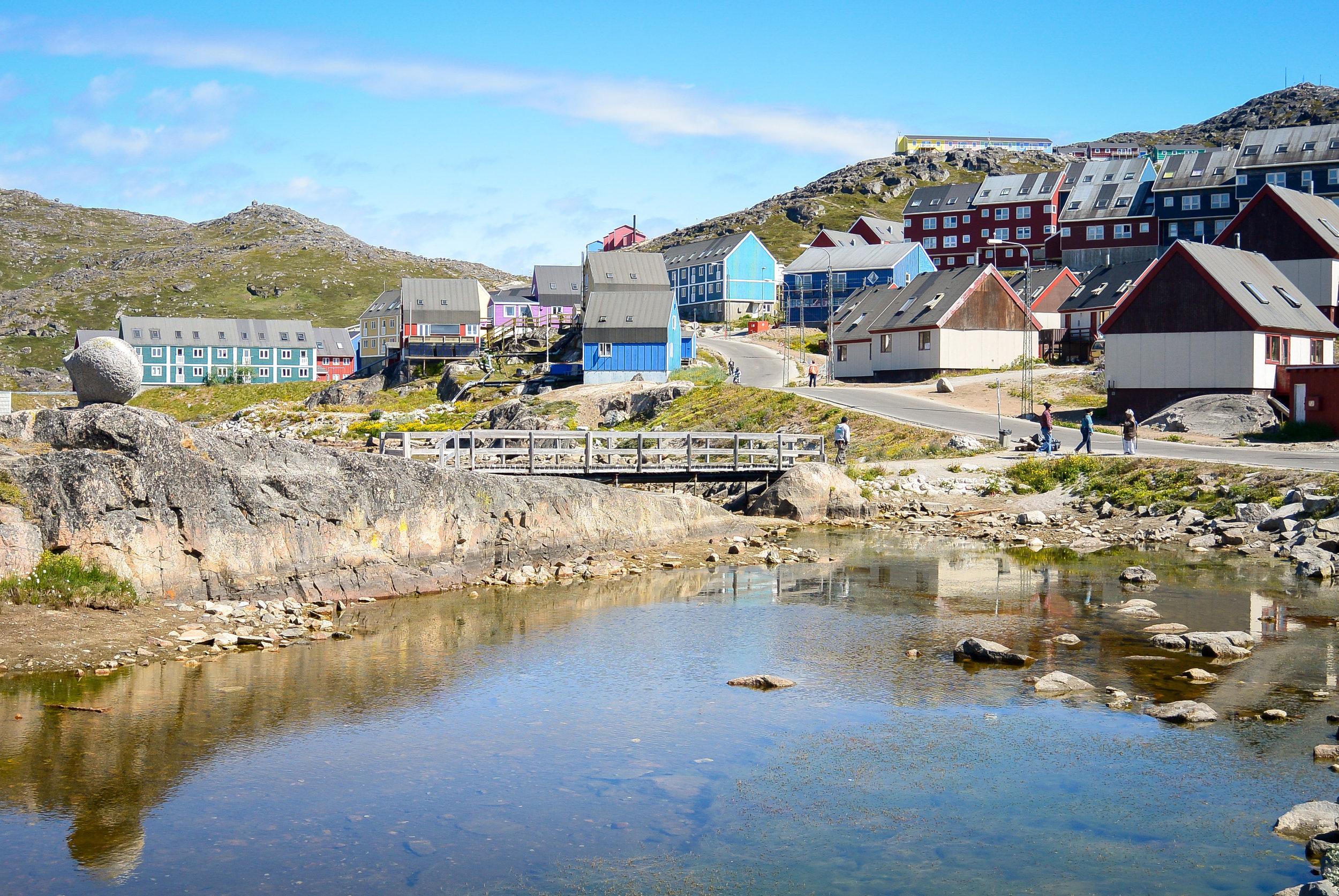 Colorful houses in Qaqortoq