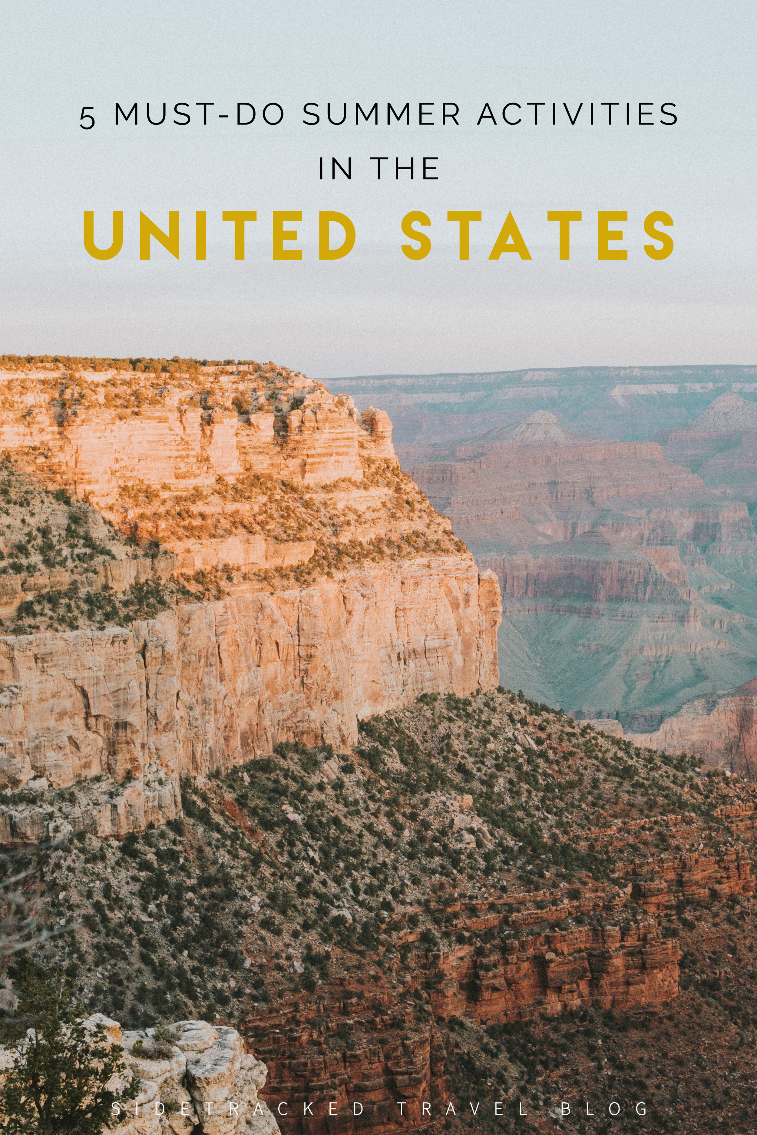 The United States is a vast and diverse country, and most travelers don't even come close to visiting even half of all the states. There is so much to explore! Below you'll find five recommendations for fun activities to do this summer in various destinations across the U.S.A.