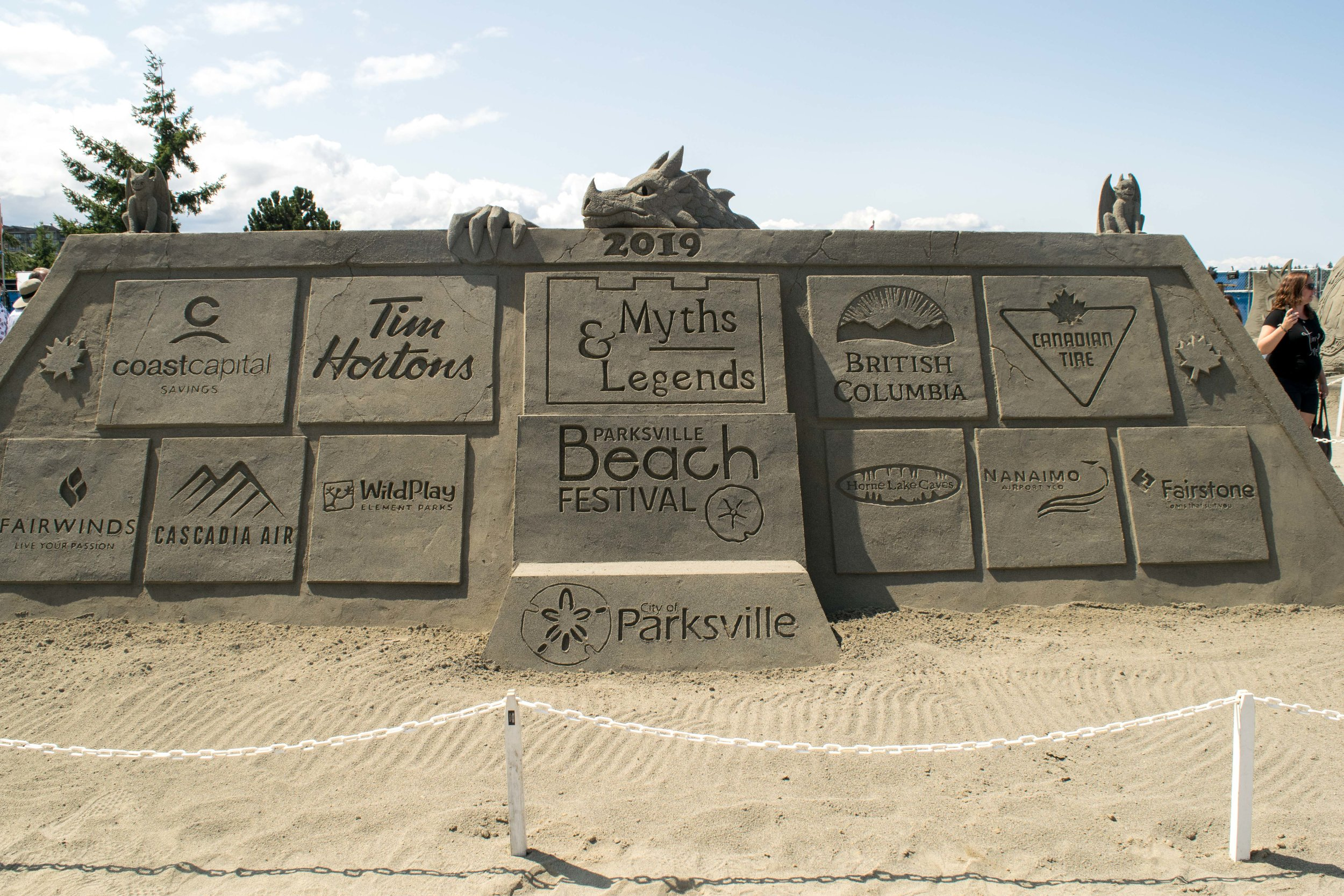 2019 Parksville Sand Sculpting Competition & Exhibition