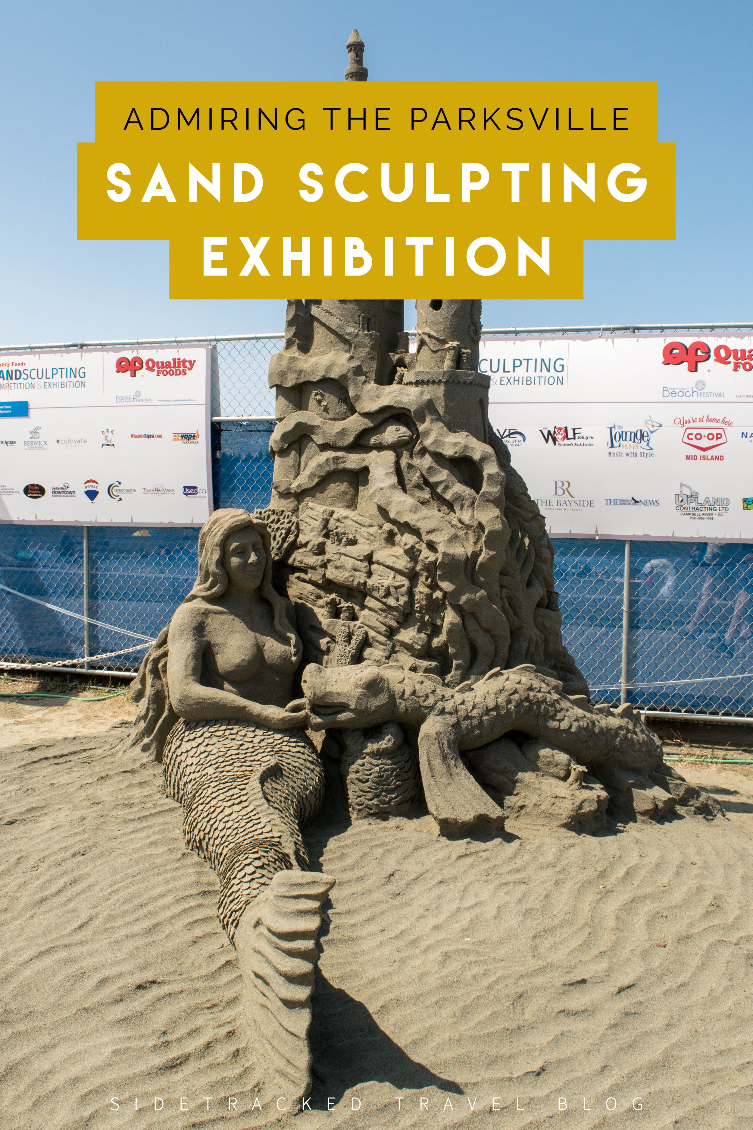 If you find yourself in the Parksville area, checking out this annual exhibition is a fun way to spend an hour and can easily be combined with a walk along the adjacent boardwalk or an afternoon spent beach-combing.