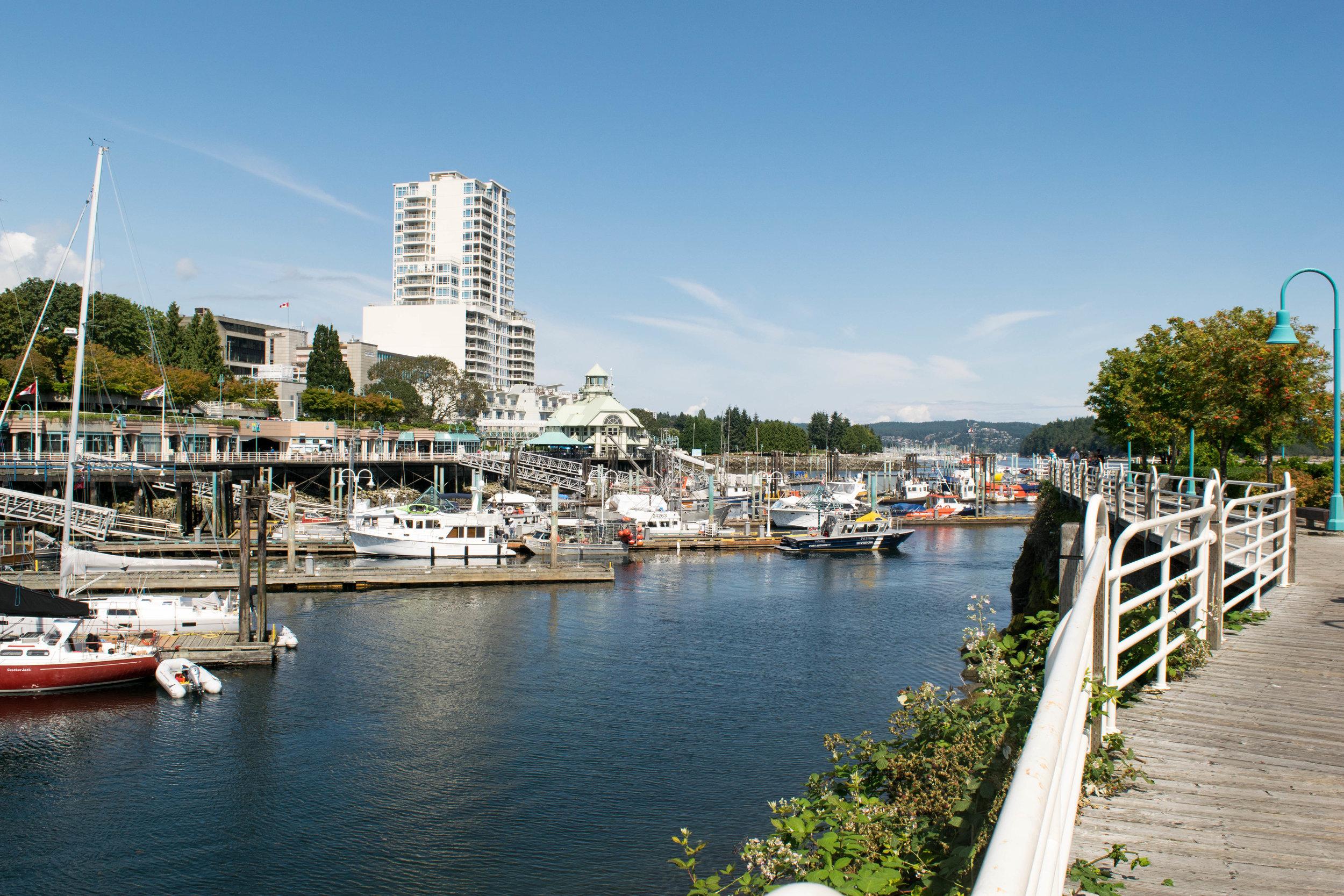View of the Nanaimo Marina