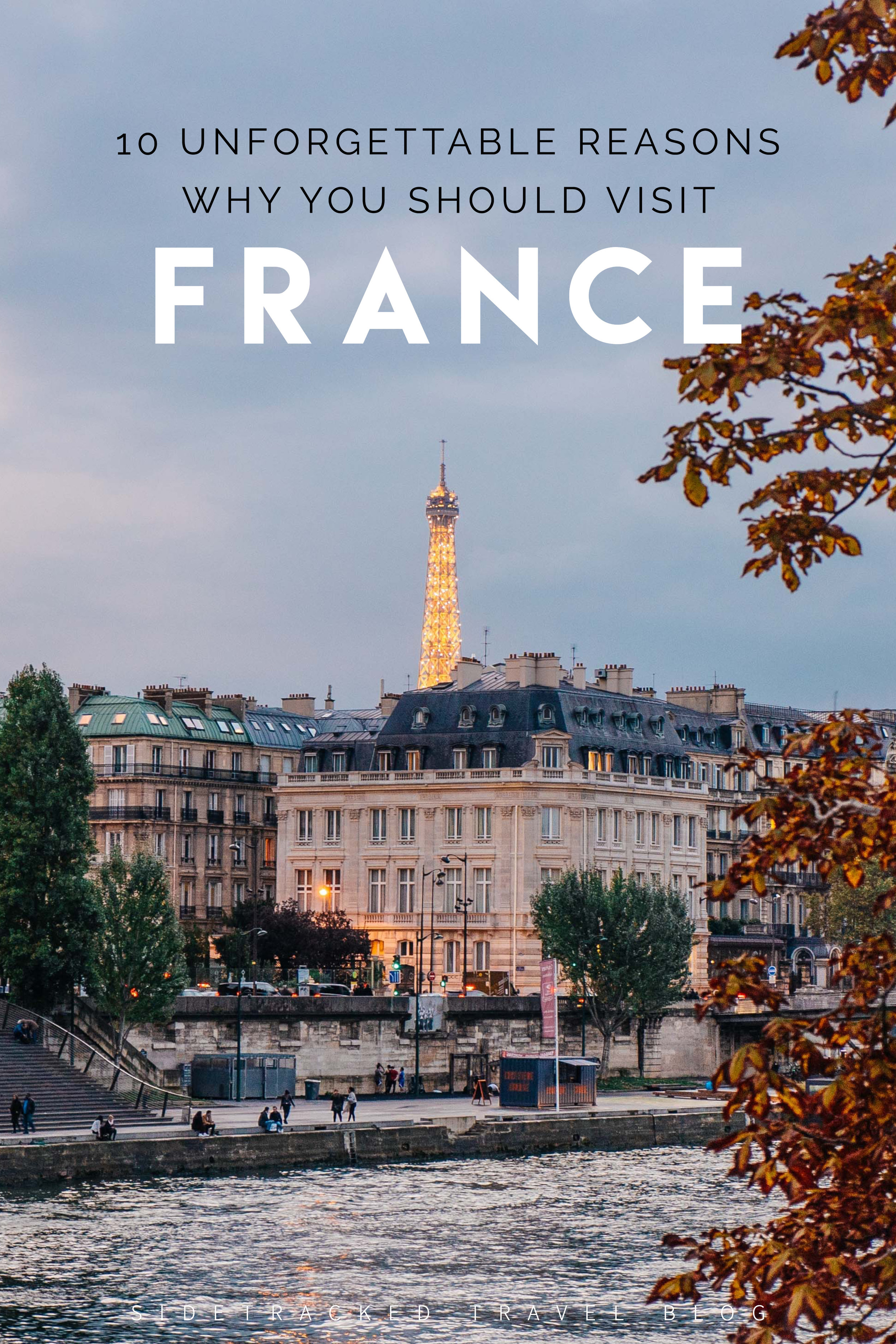 From its cosmopolitan cities to charming villages, striking coastline to the French Alps, plus a rich history and a delicious cuisine, there are so many reasons why travelers should head to France at least once. To help you get inspired and plan your visit, here are 10 unforgettable reasons why you should go!